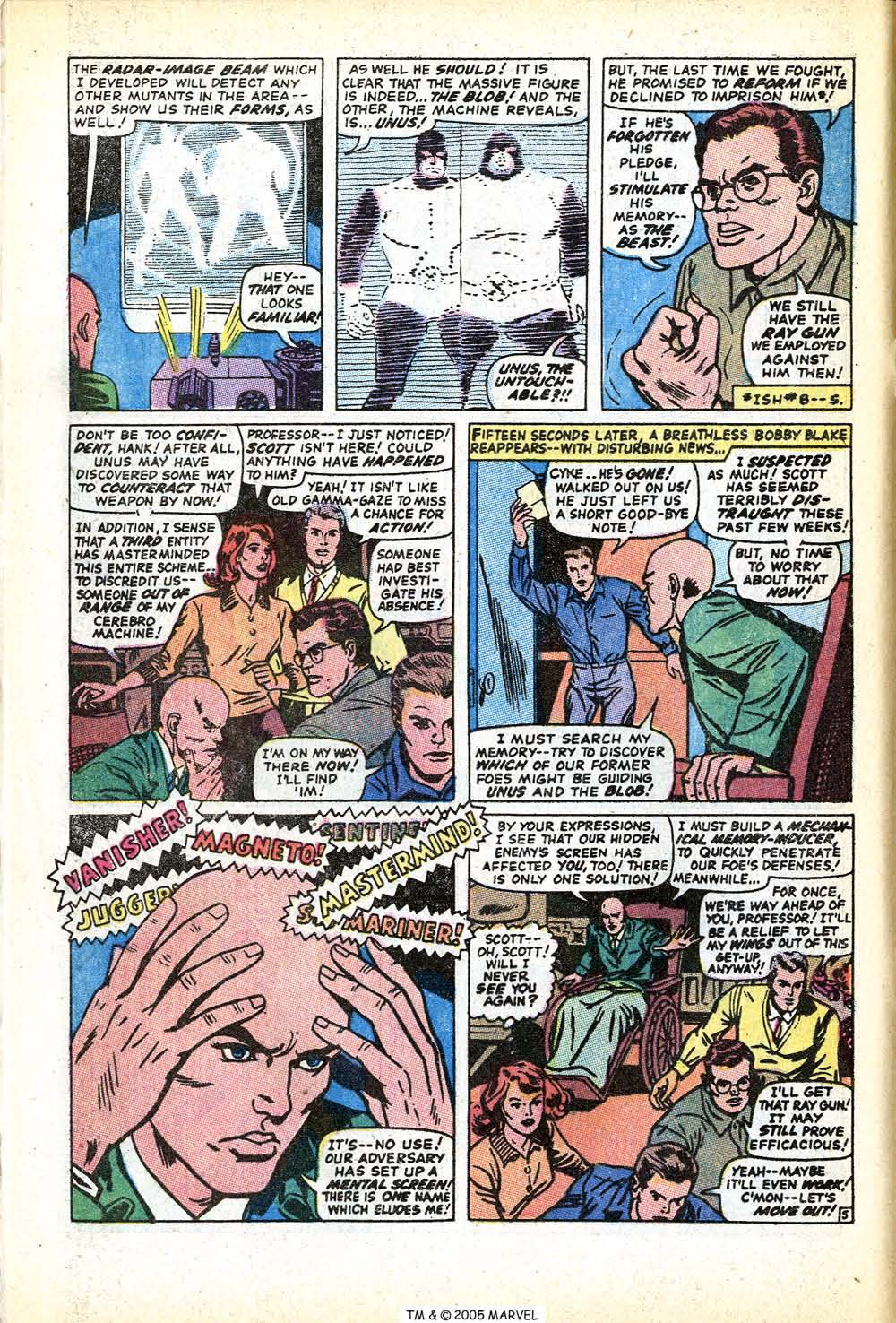 Read online Uncanny X-Men (1963) comic -  Issue #71 - 8