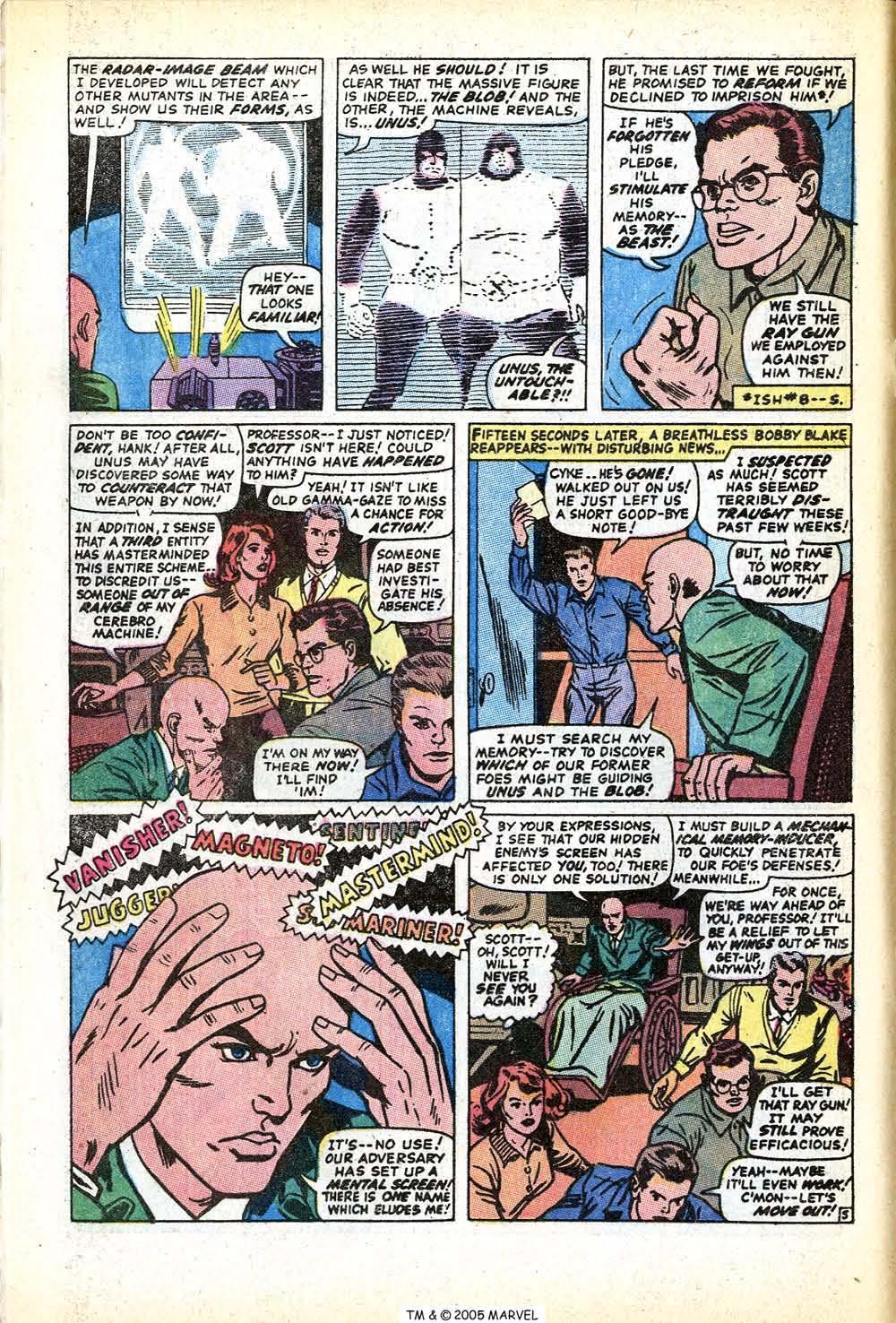 Uncanny X-Men (1963) issue 71 - Page 8
