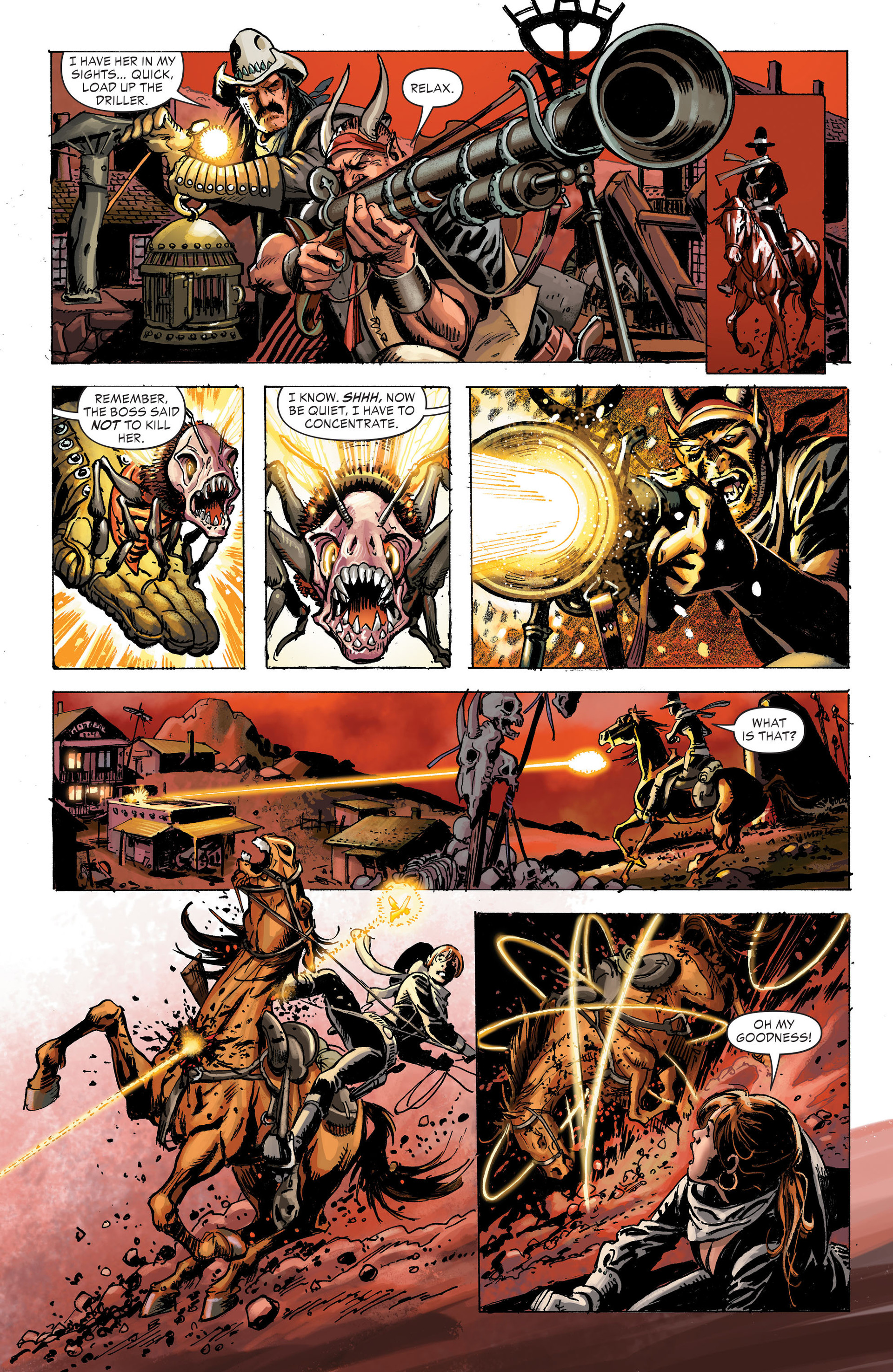 Read online All-Star Western (2011) comic -  Issue #31 - 20