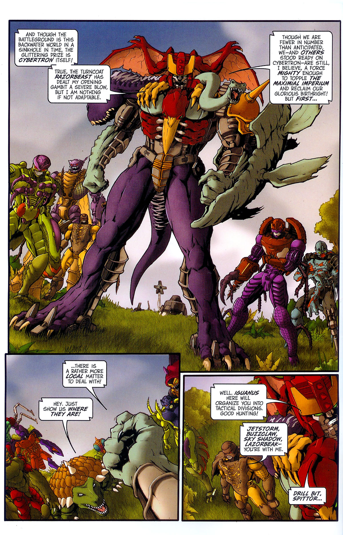 Read online Transformers, Beast Wars: The Gathering comic -  Issue #2 - 5