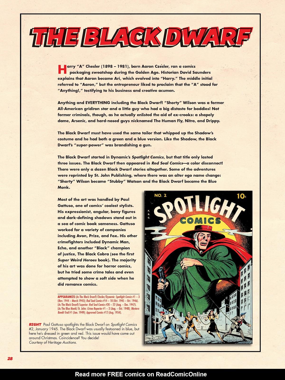 Read online Super Weird Heroes comic -  Issue # TPB 2 (Part 1) - 28