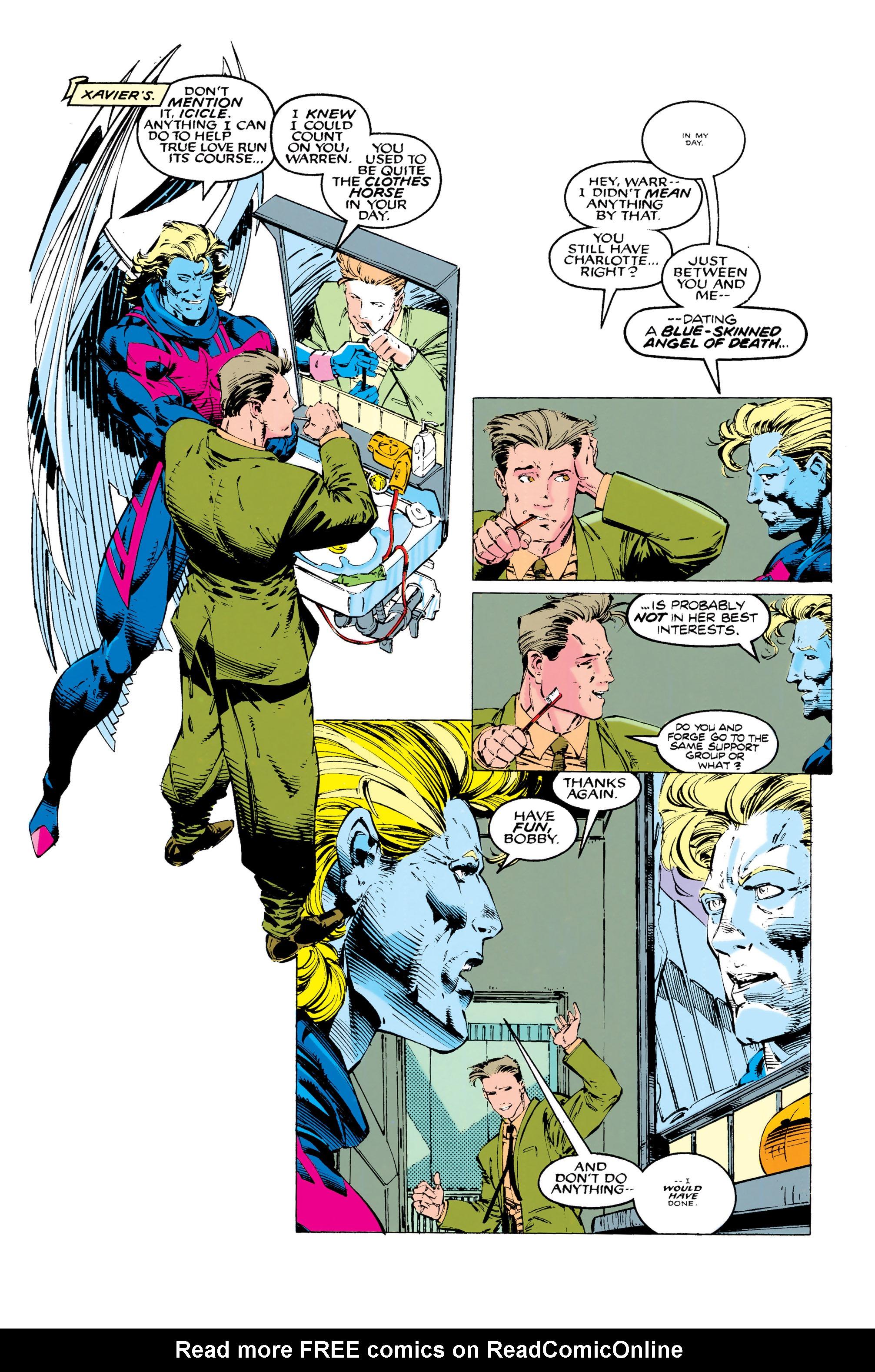 Read online Uncanny X-Men (1963) comic -  Issue #289 - 9