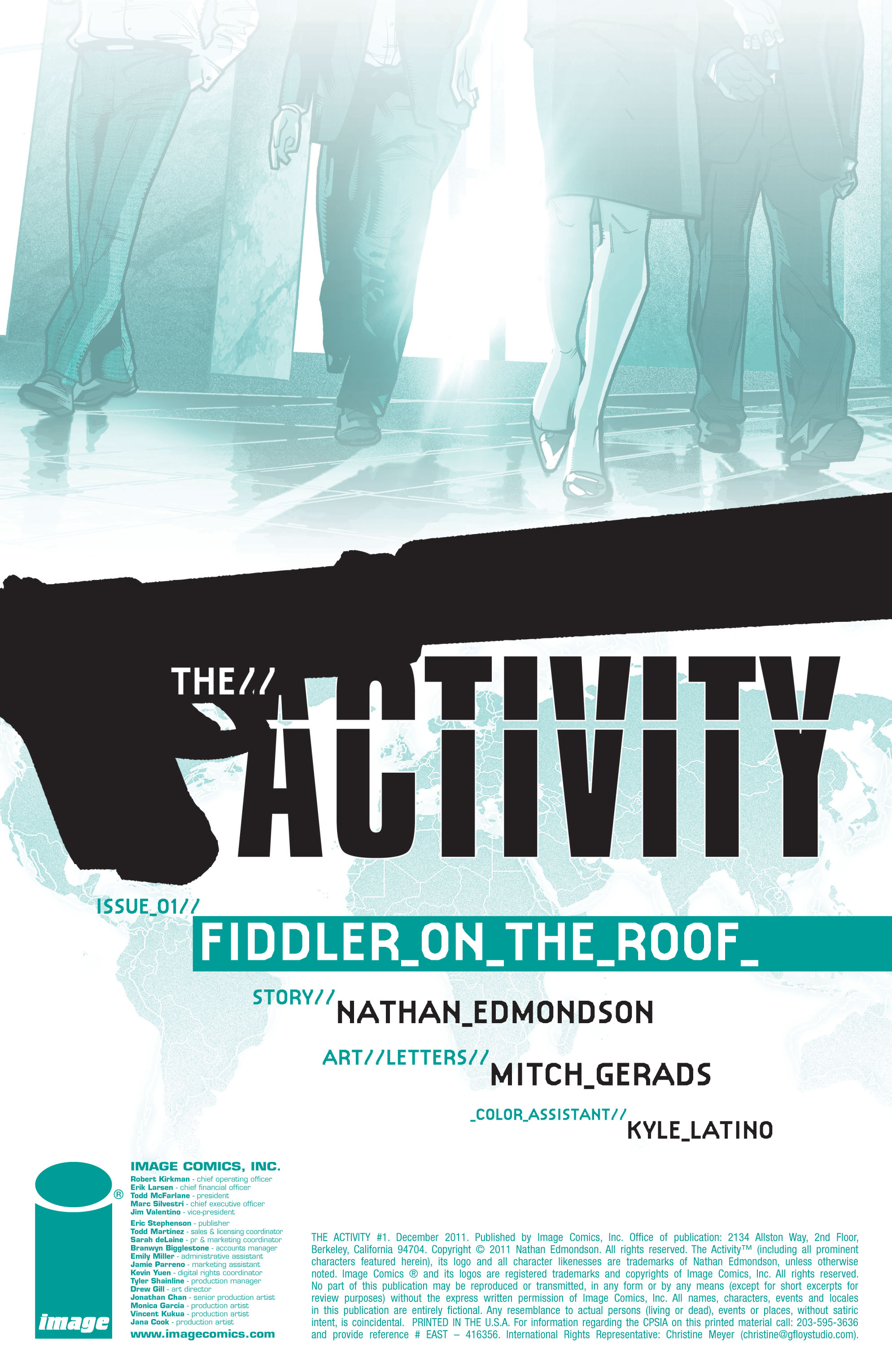 Read online The Activity comic -  Issue #1 - 2