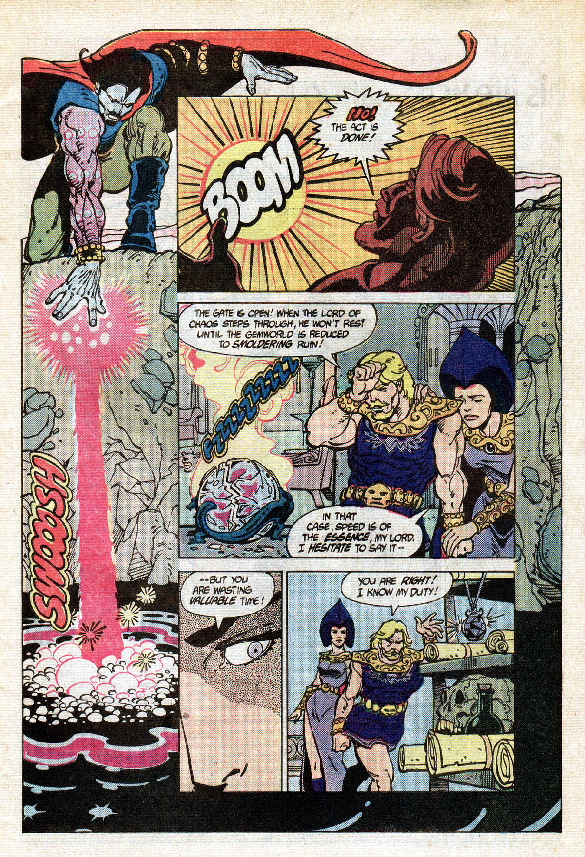 Read online Amethyst (1985) comic -  Issue #13 - 9