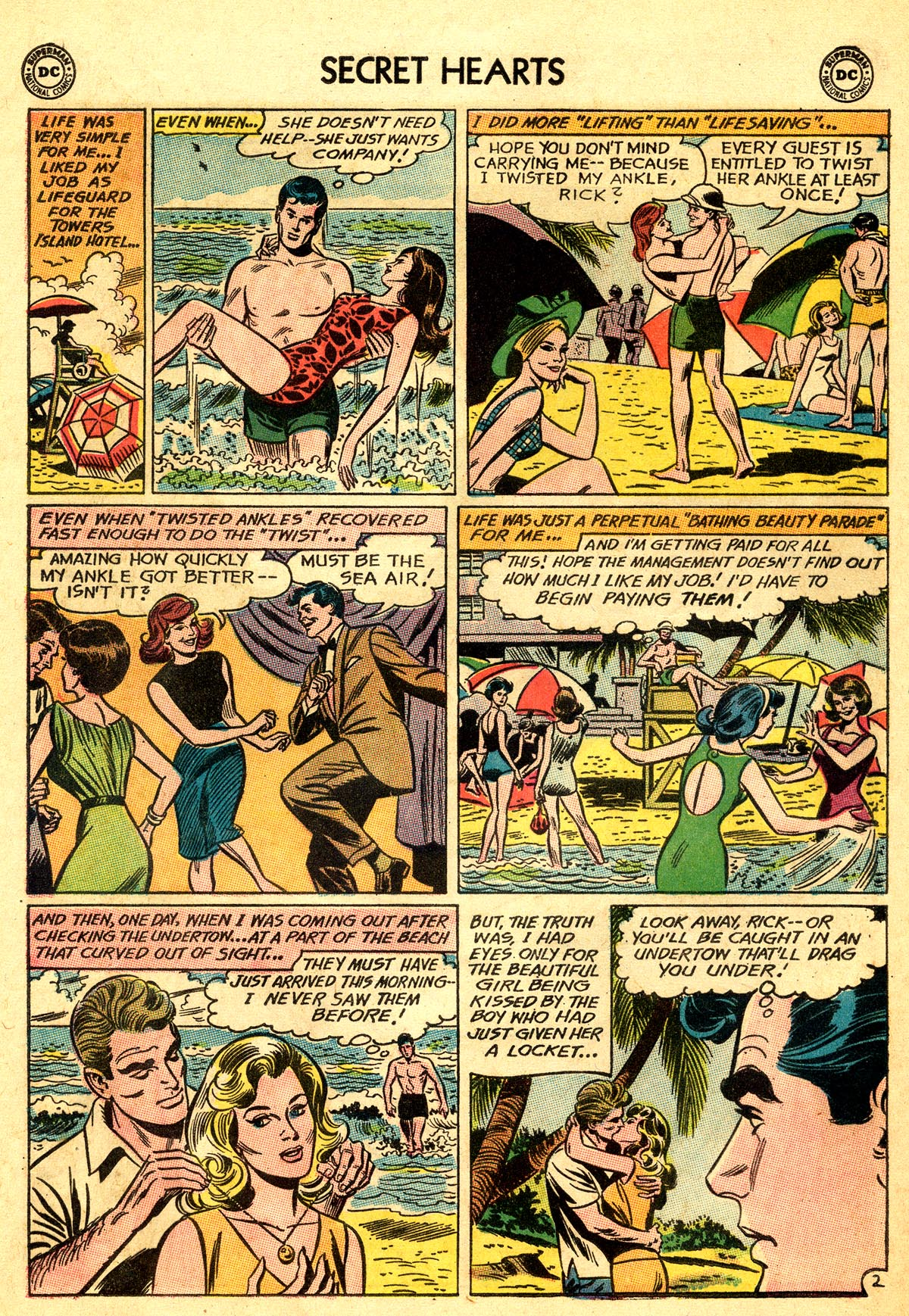 Read online Secret Hearts comic -  Issue #92 - 28