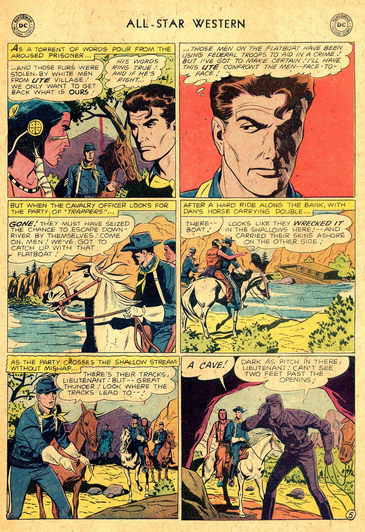 Read online All-Star Western (1951) comic -  Issue #104 - 19