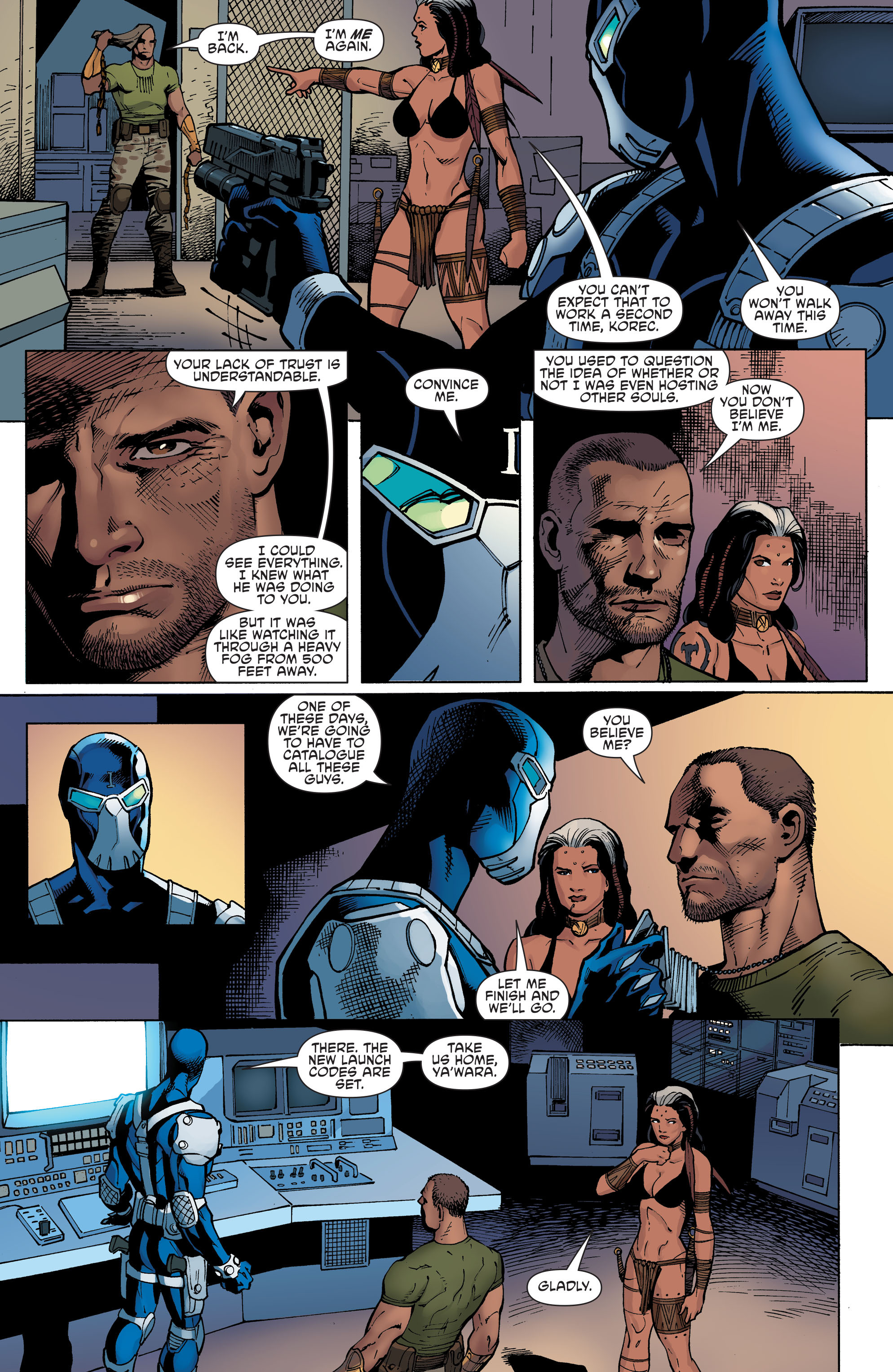 Read online Aquaman and the Others comic -  Issue #9 - 12