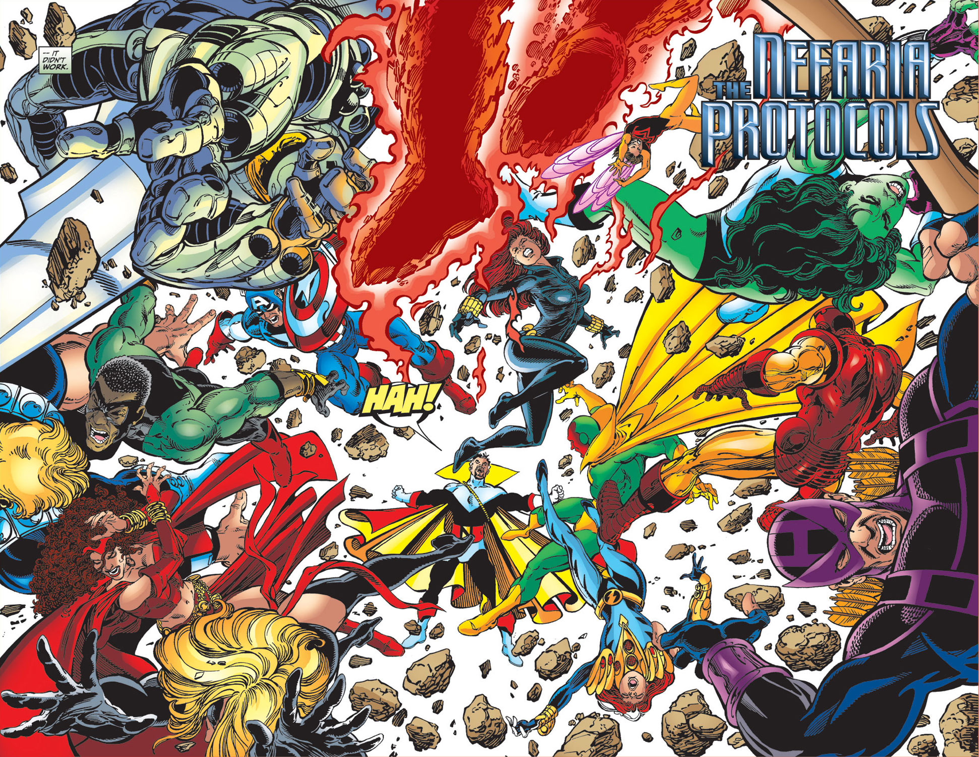 Read online Avengers (1998) comic -  Issue #34 - 3