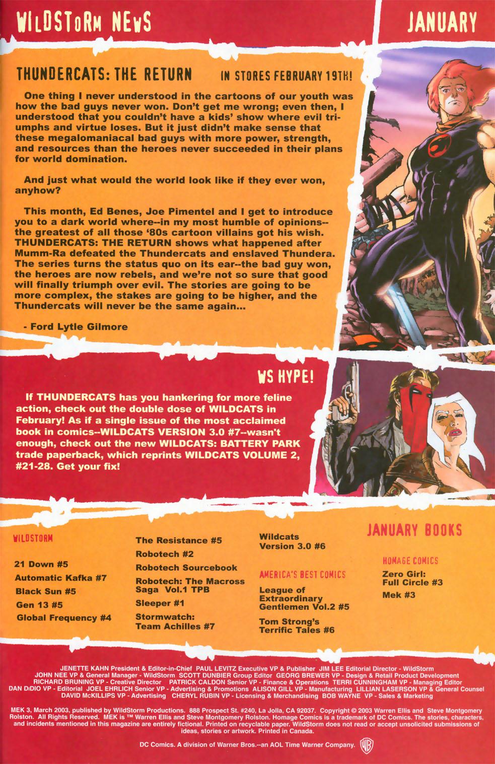 Read online Mek comic -  Issue #3 - 21