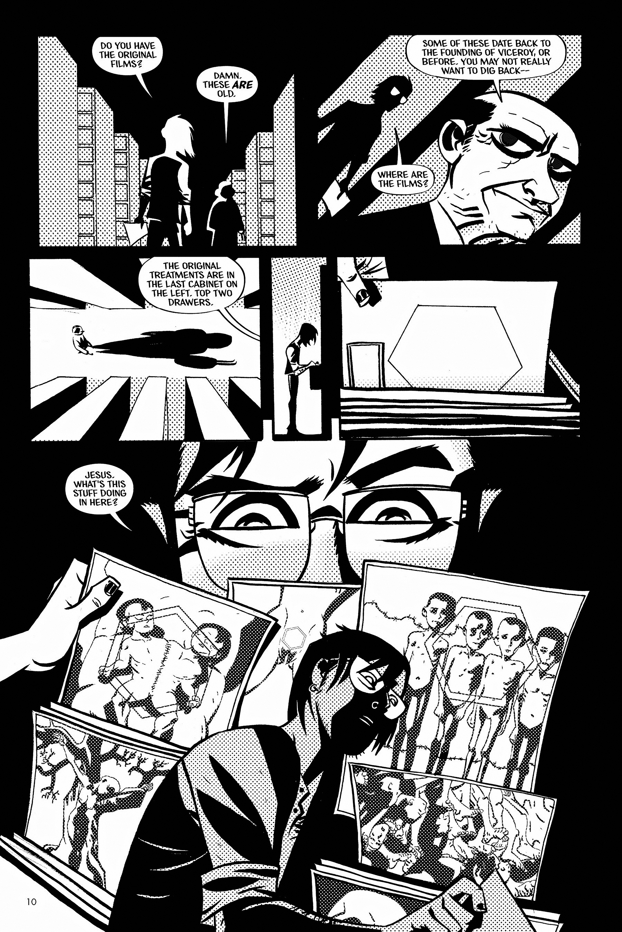 Read online Aleister & Adolf comic -  Issue # TPB - 10