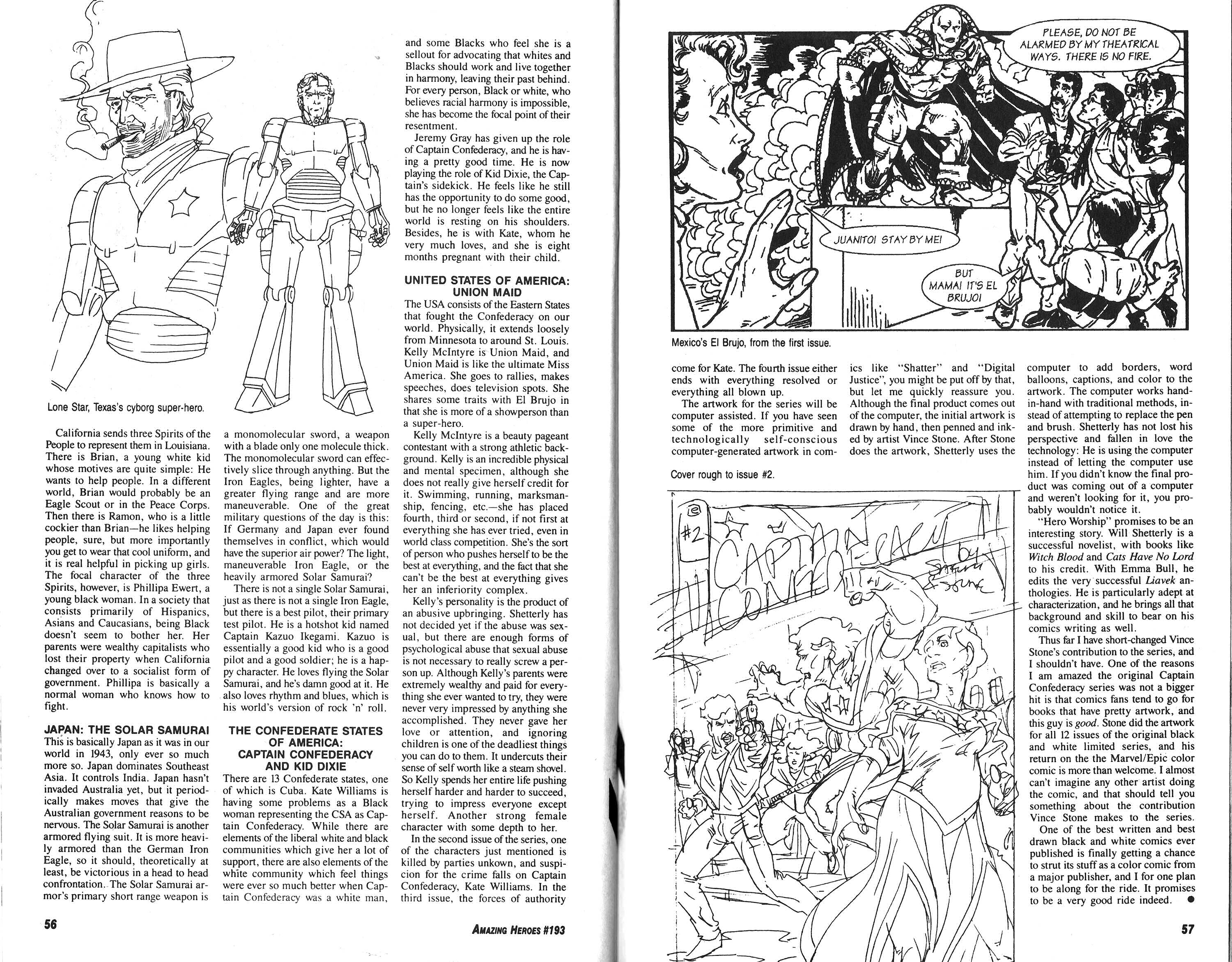 Read online Amazing Heroes comic -  Issue #193 - 29