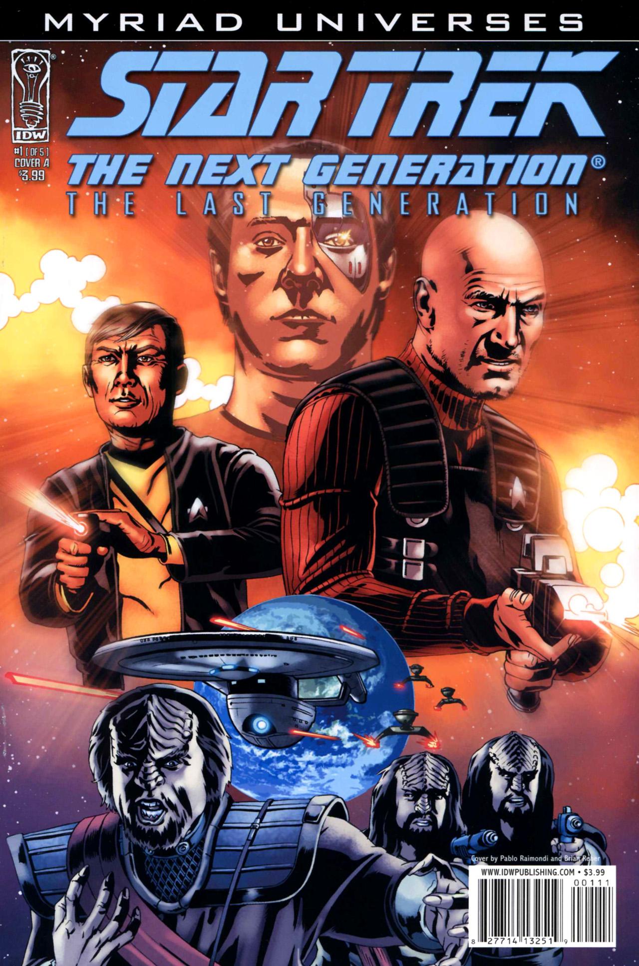 Star Trek: The Next Generation: The Last Generation 1 Page 1