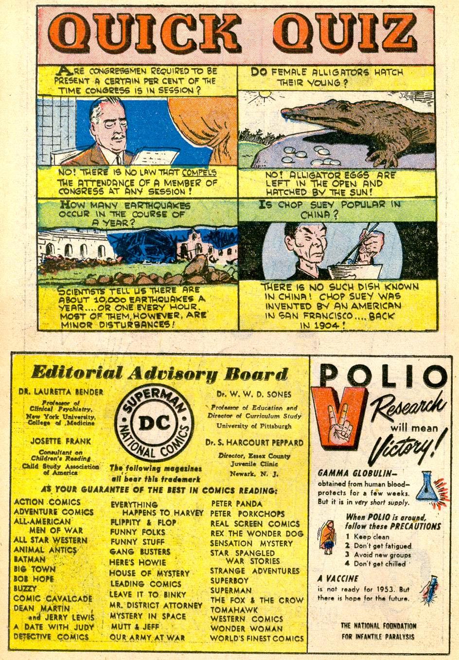 Read online Adventure Comics (1938) comic -  Issue #192 - 24