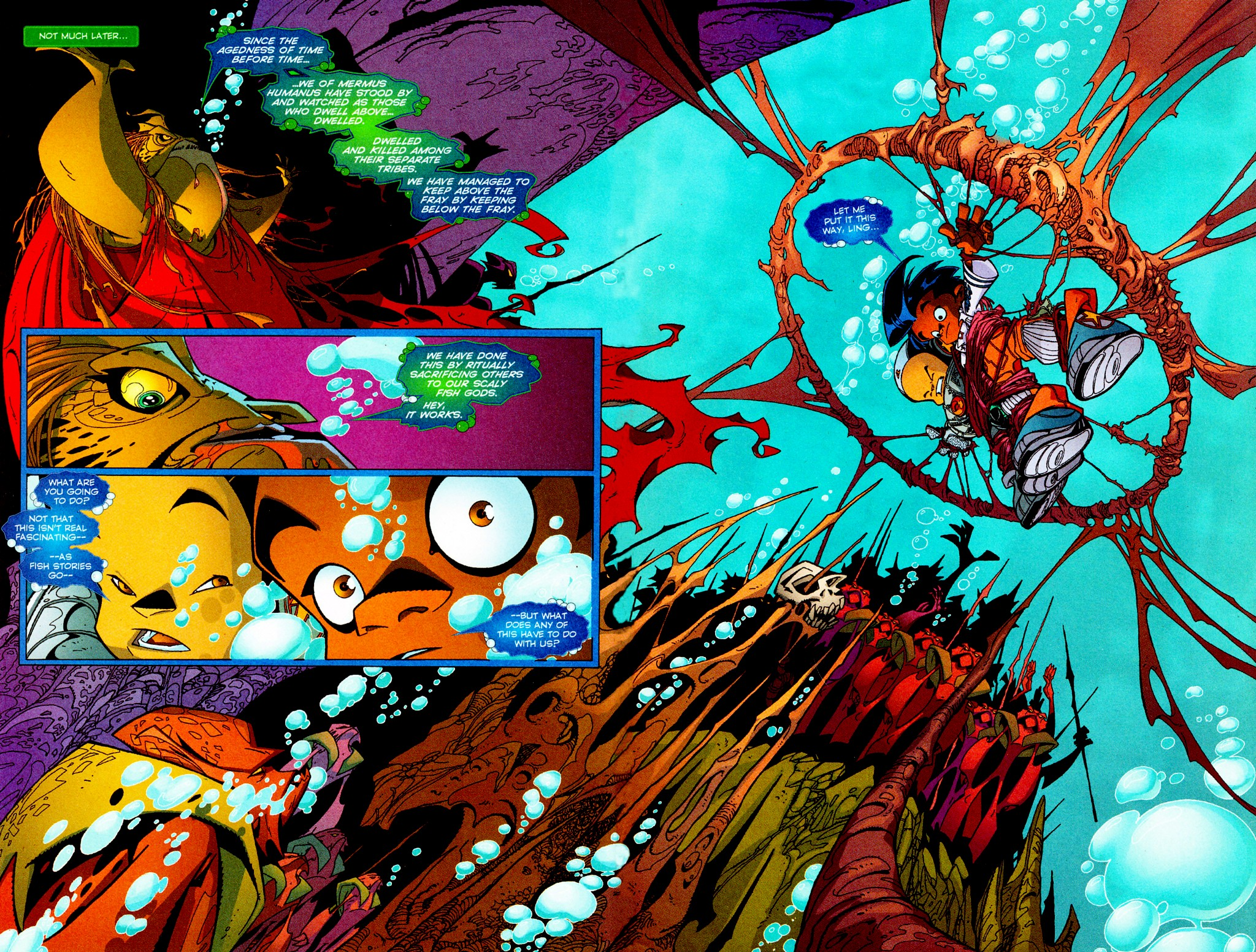 Read online Monster World (Existed) comic -  Issue #3 - 10