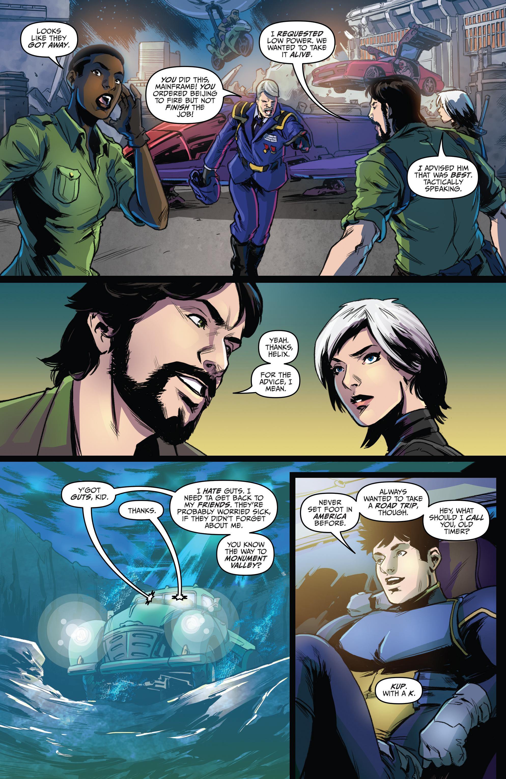 Read online Action Man: Revolution comic -  Issue #Action Man: Revolution Full - 23