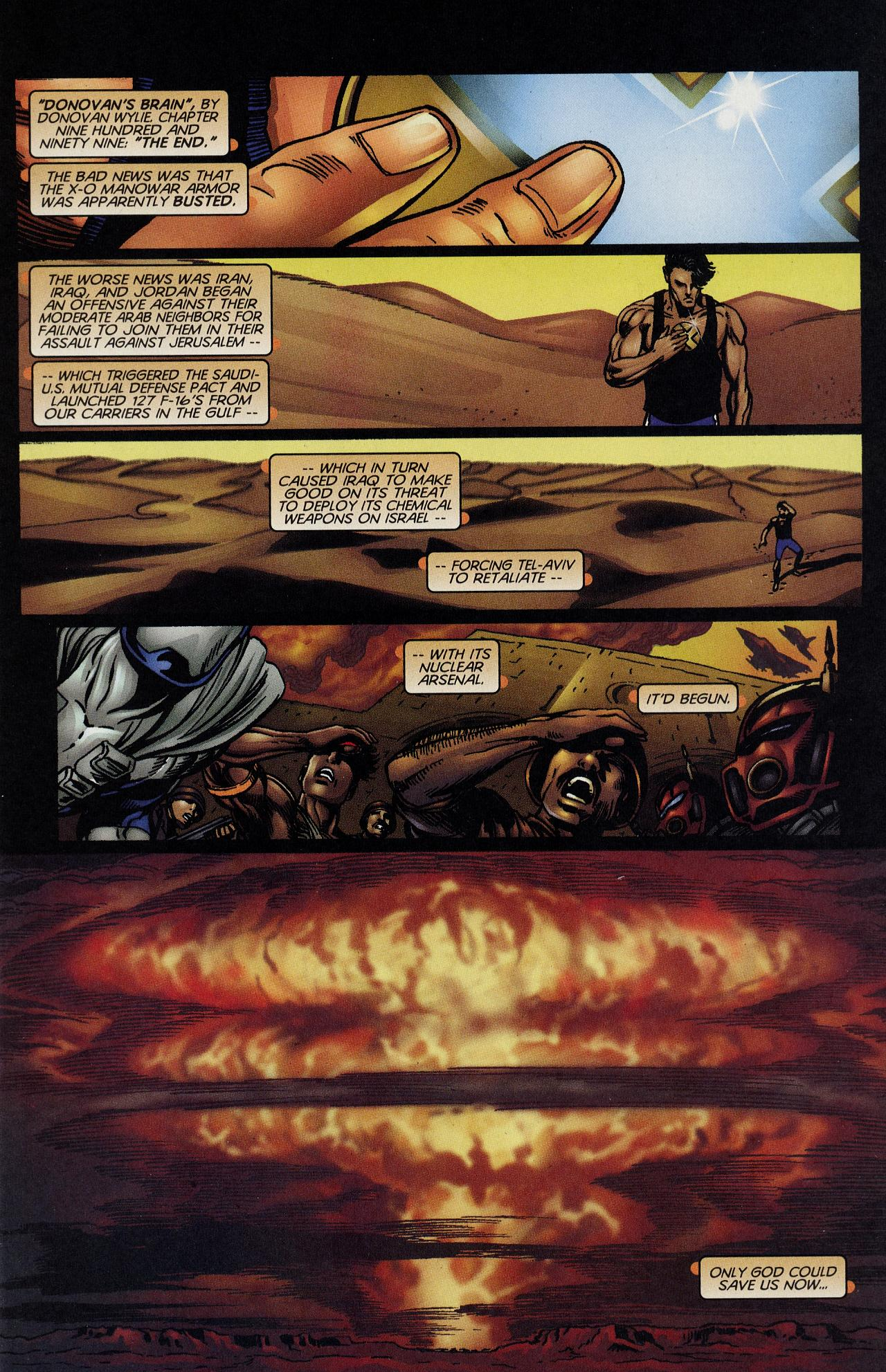 Read online Solar, Man of the Atom: Hell on Earth comic -  Issue #4 - 2