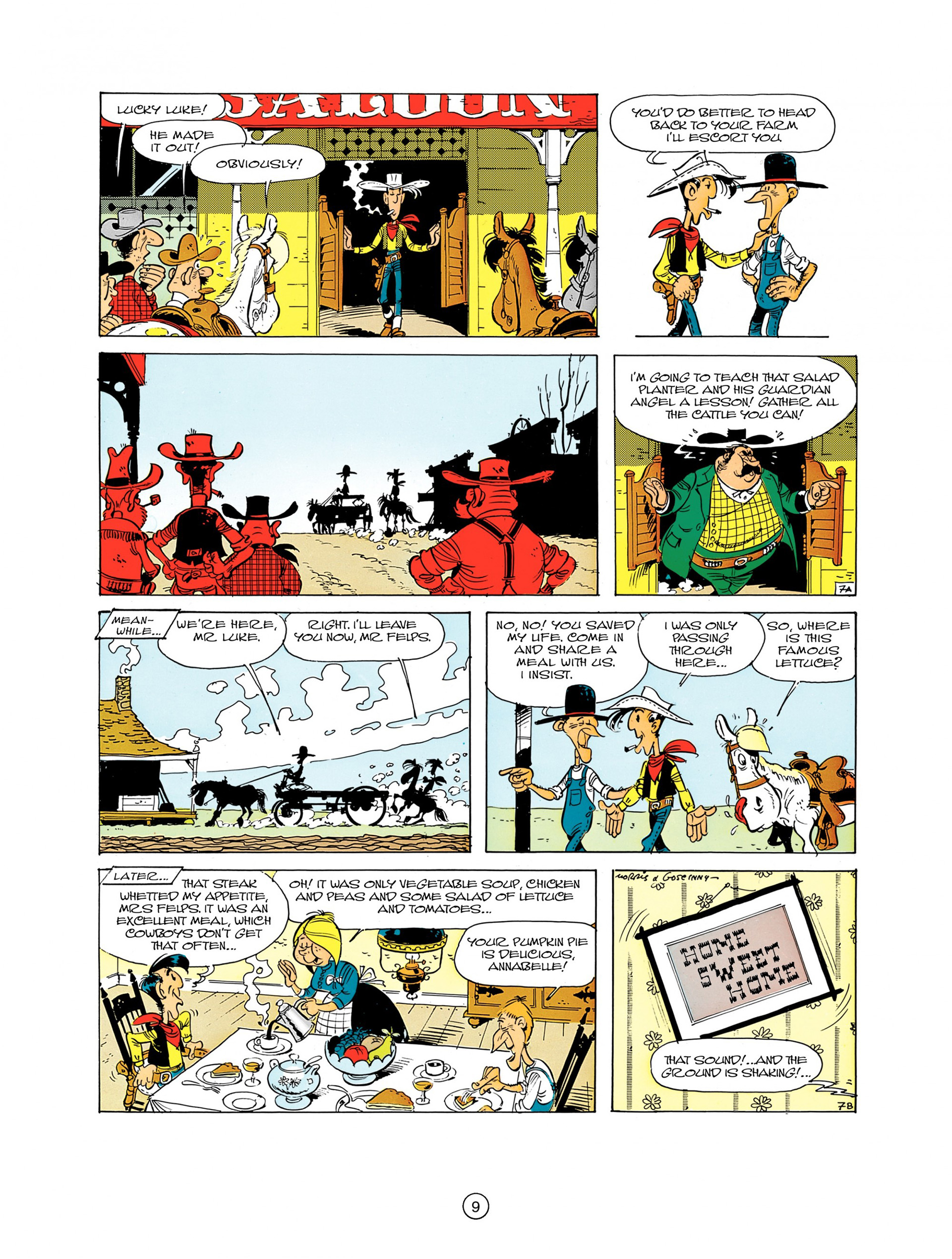 Read online A Lucky Luke Adventure comic -  Issue #7 - 9