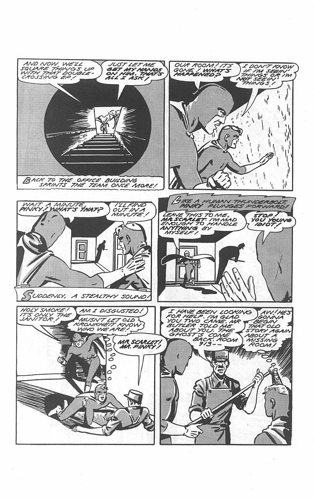 Read online Golden-Age Men of Mystery comic -  Issue #16 - 12