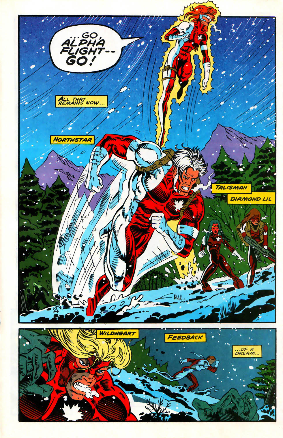 Read online Alpha Flight (1983) comic -  Issue #128 - 13