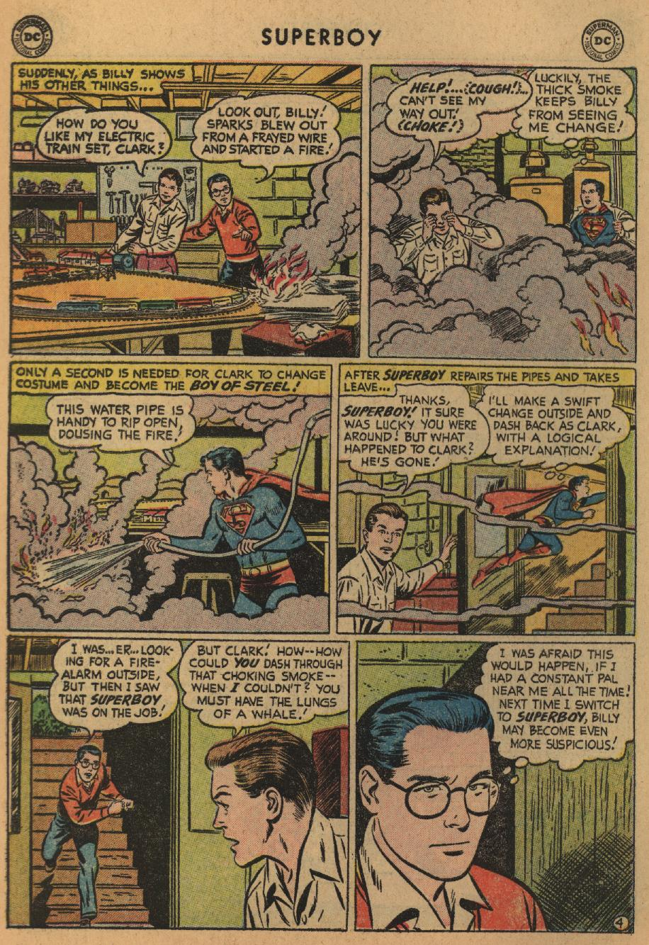 Superboy (1949) issue 47 - Page 5