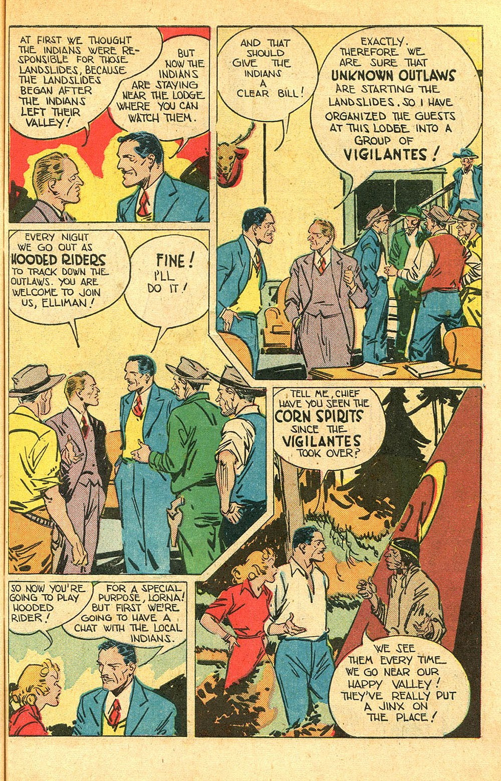 Read online Super-Magician Comics comic -  Issue #56 - 39