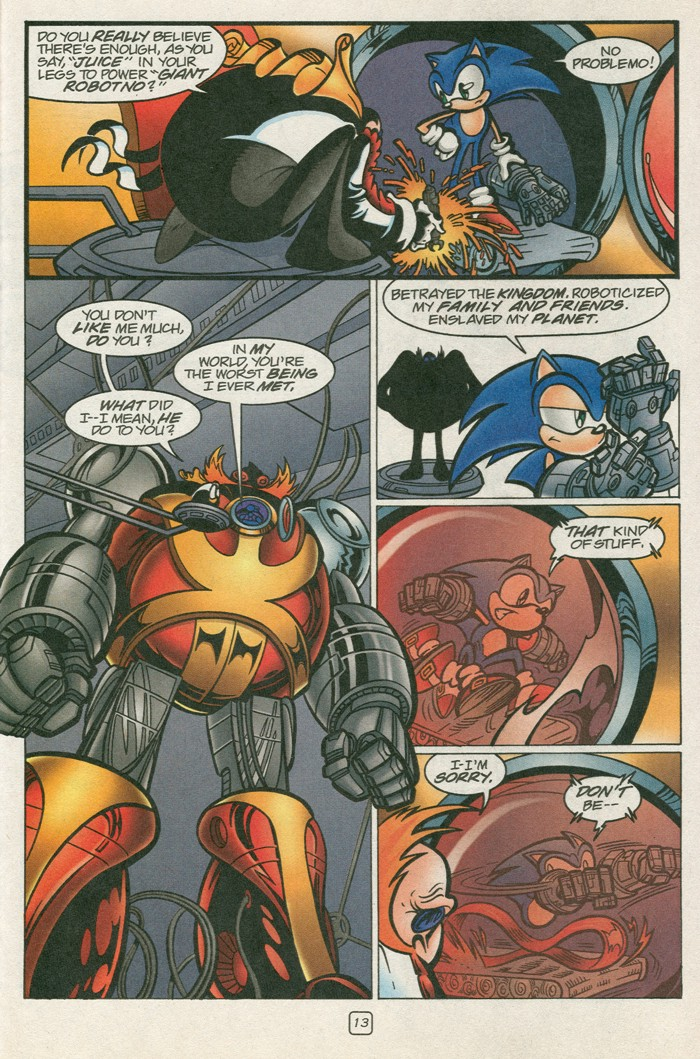Read online Sonic Super Special comic -  Issue #12 - Sonic and Knuckles visa versa - 30