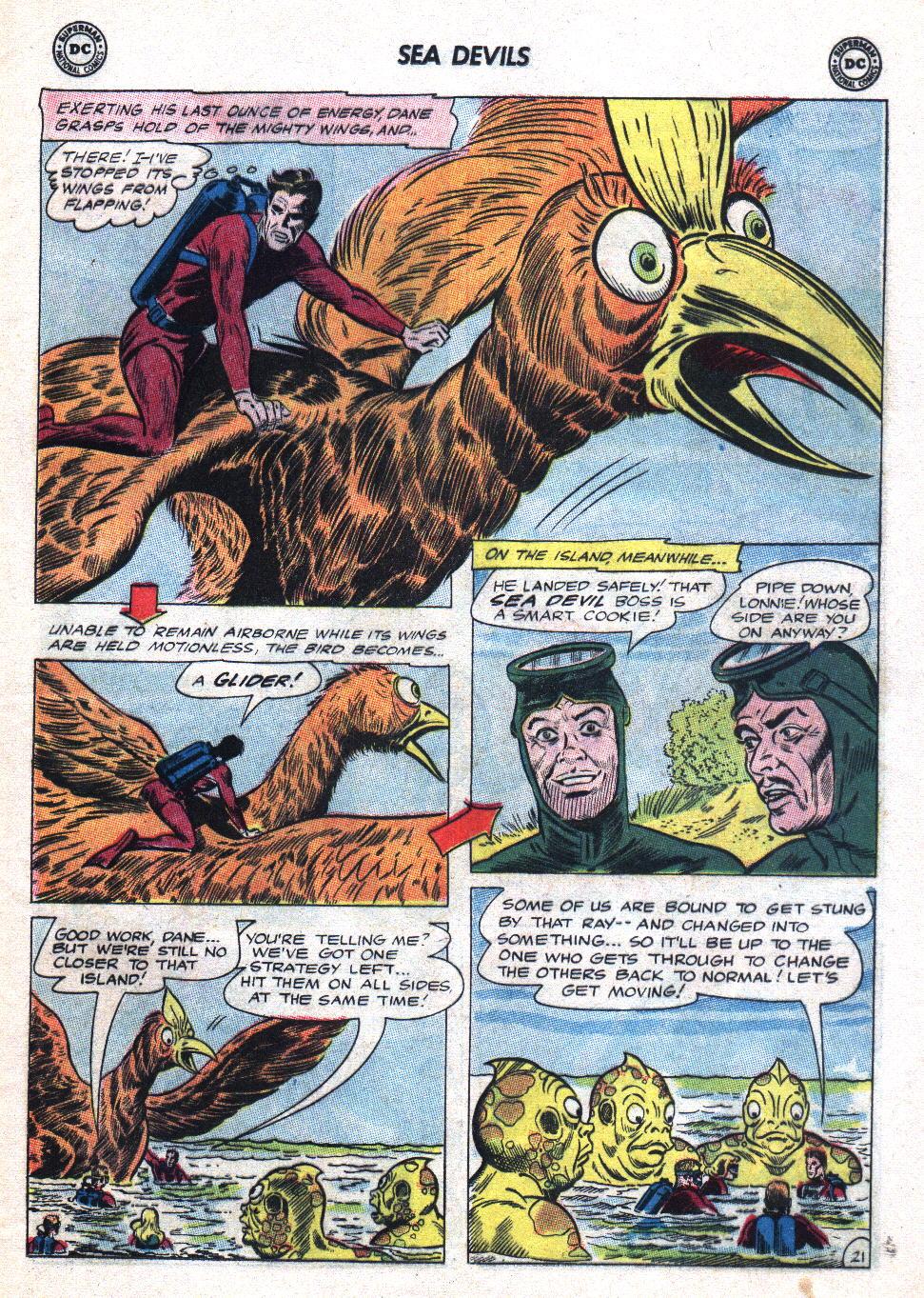 Read online Sea Devils comic -  Issue #20 - 29