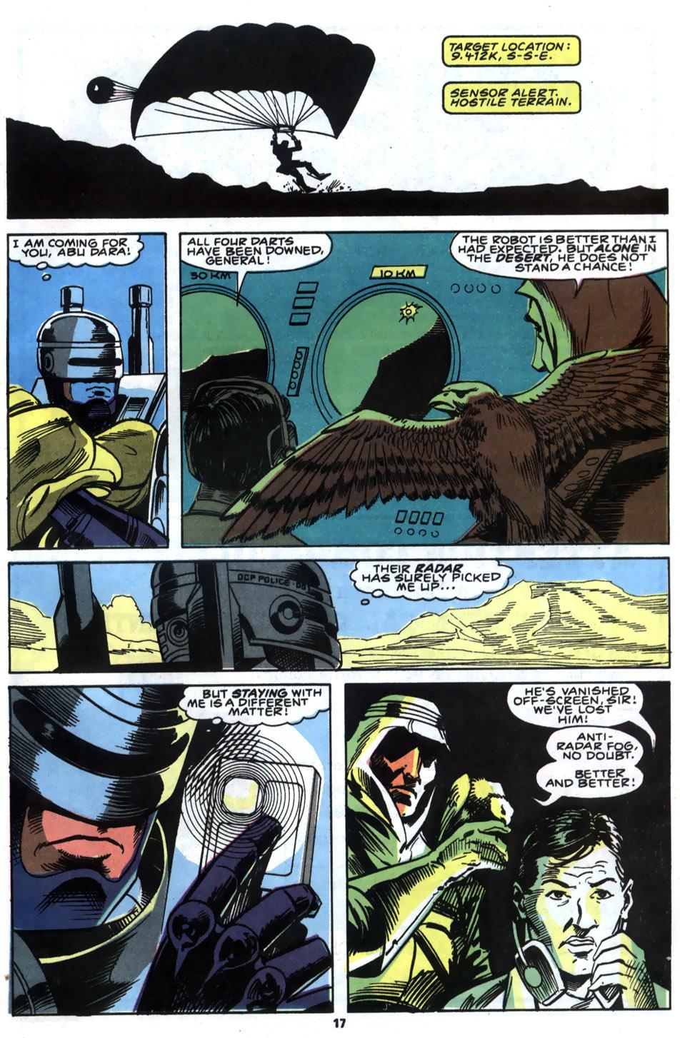 Read online Robocop (1990) comic -  Issue #5 - 14