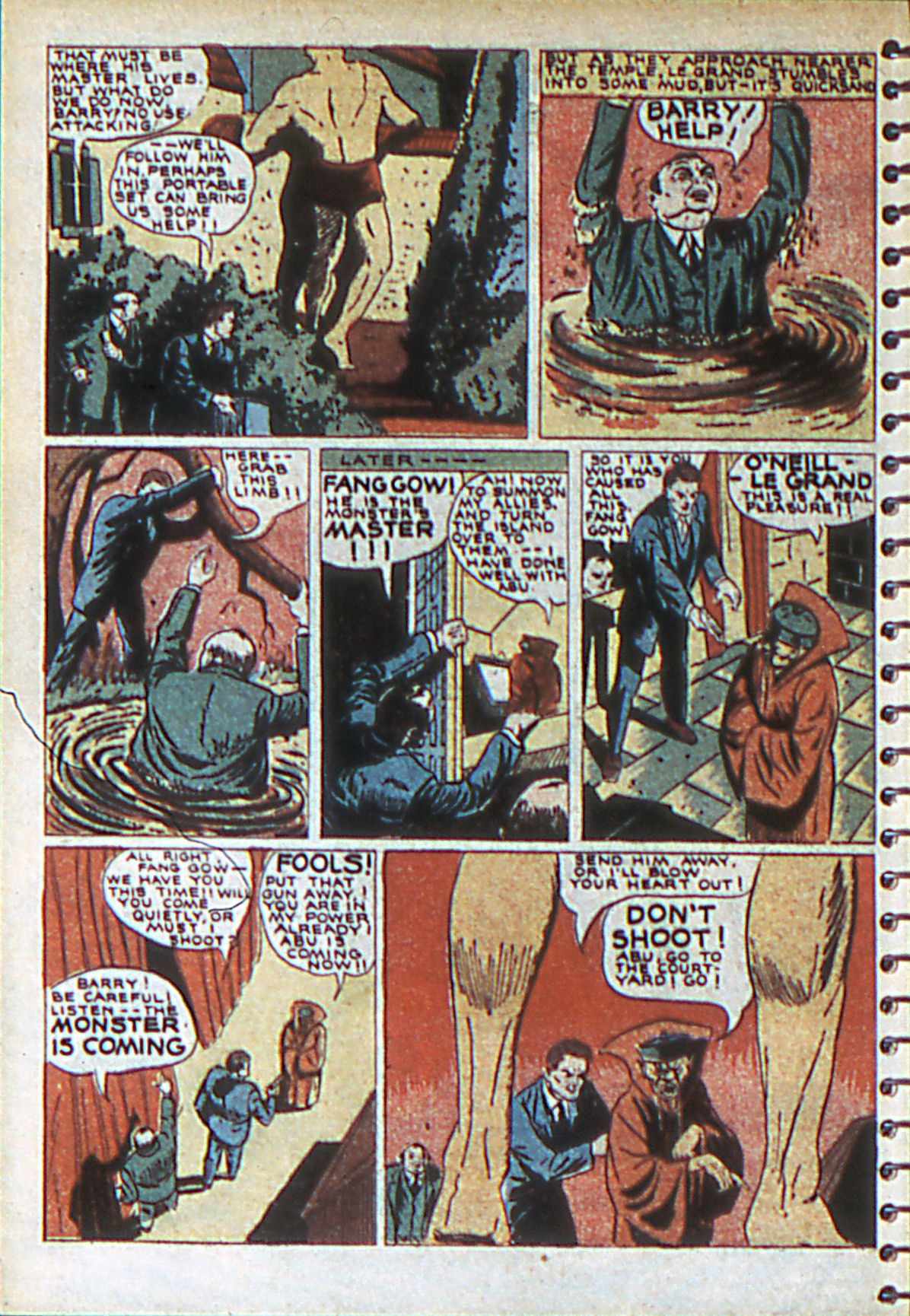 Read online Adventure Comics (1938) comic -  Issue #55 - 17