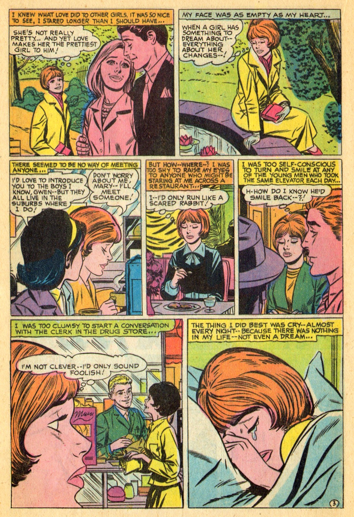 Read online Secret Hearts comic -  Issue #134 - 16