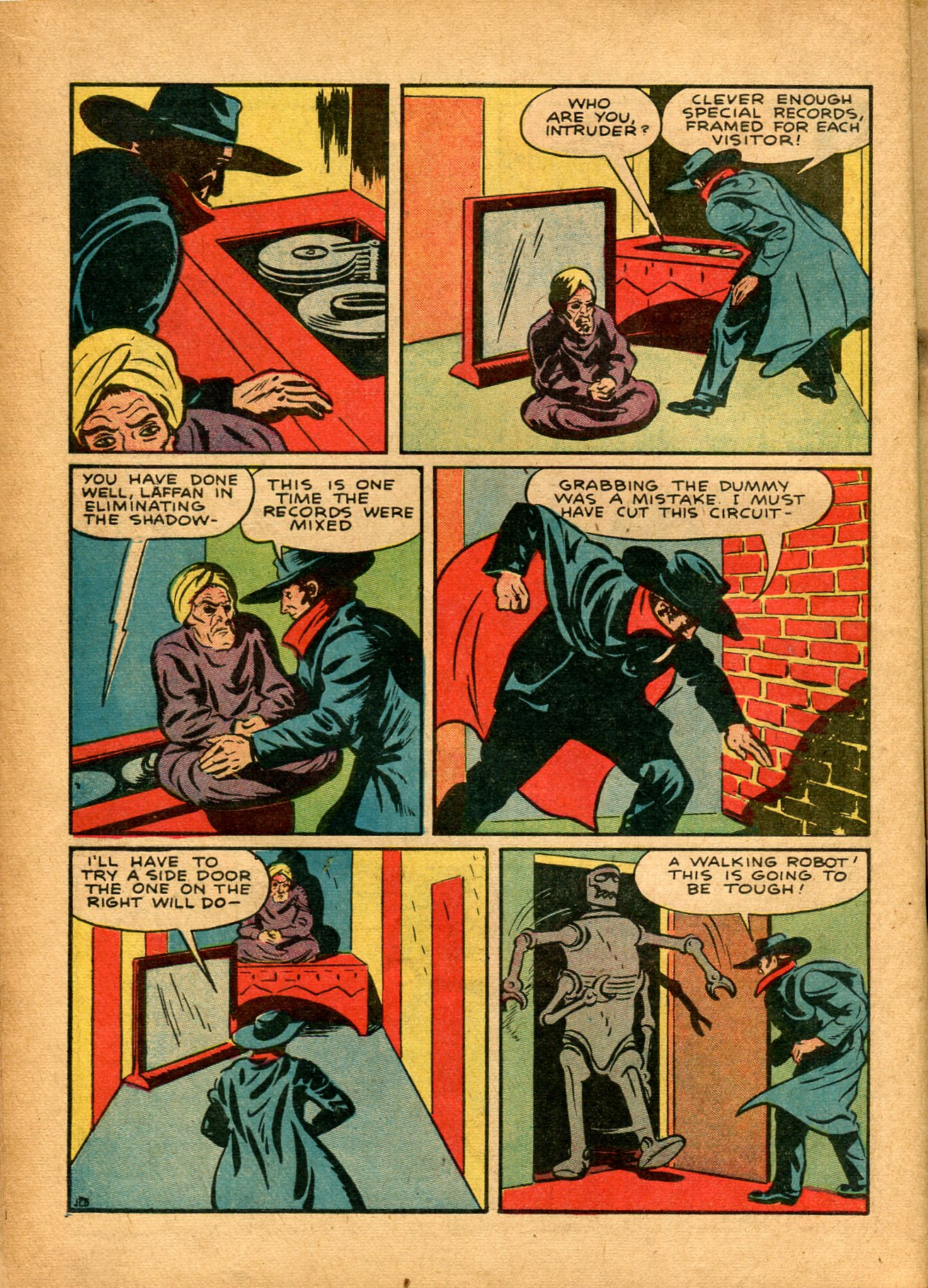 Read online Shadow Comics comic -  Issue #8 - 18