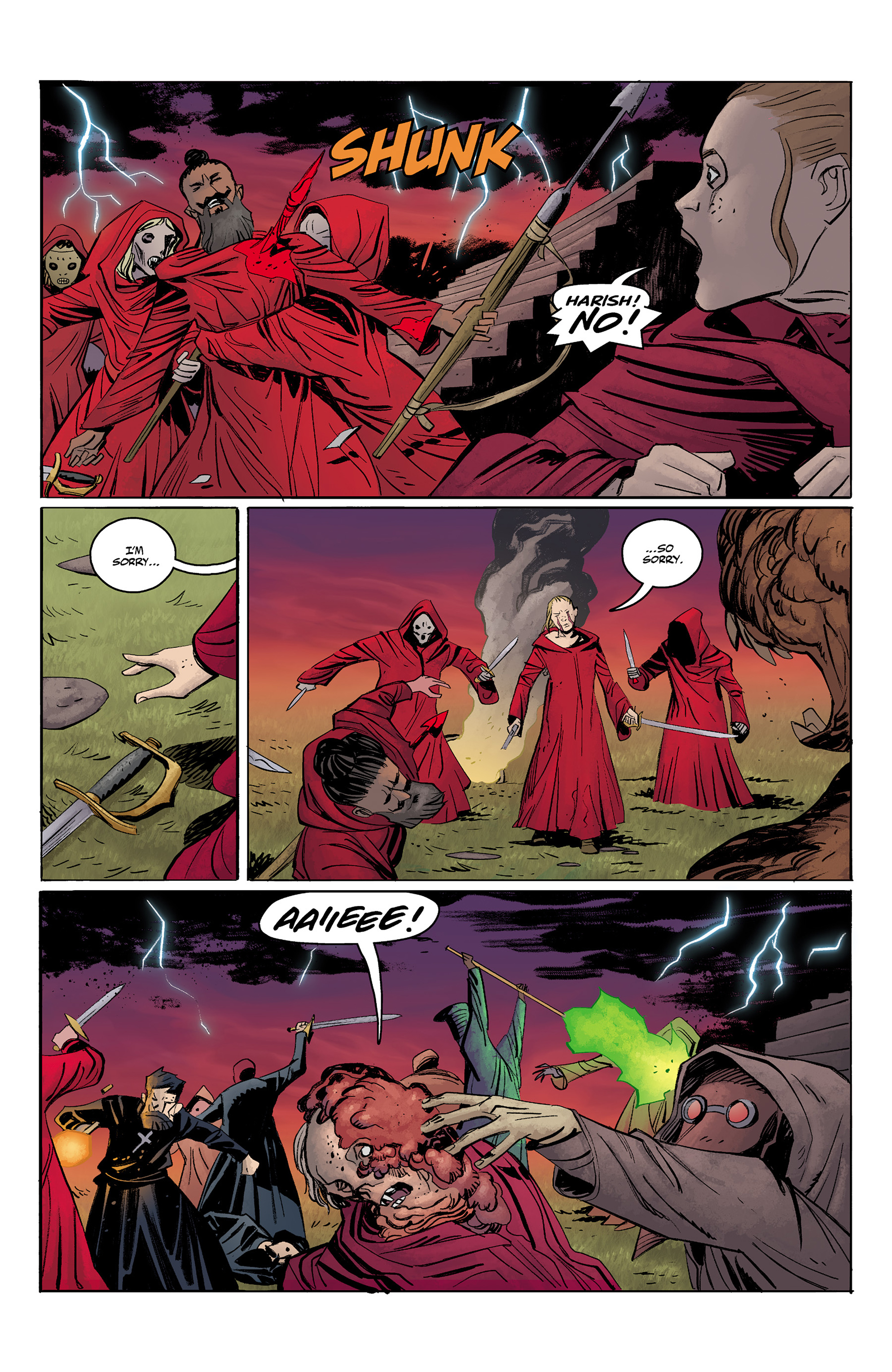 Read online Baltimore: The Red Kingdom comic -  Issue #5 - 17