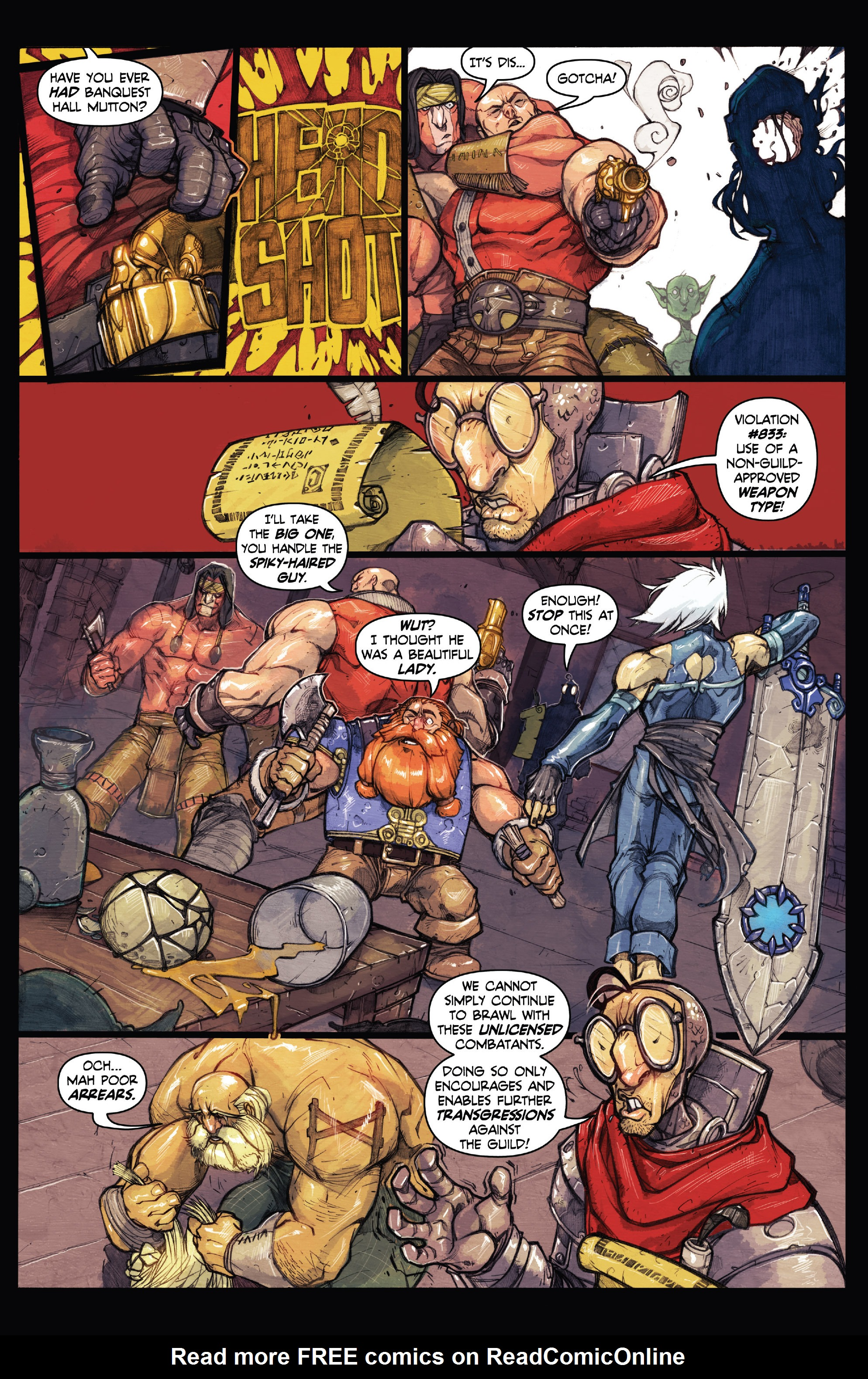 Read online Skullkickers comic -  Issue #18 - 34