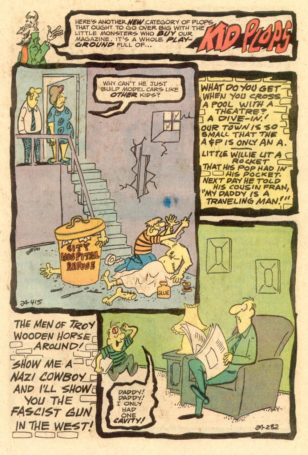 Read online Plop! comic -  Issue #24 - 21