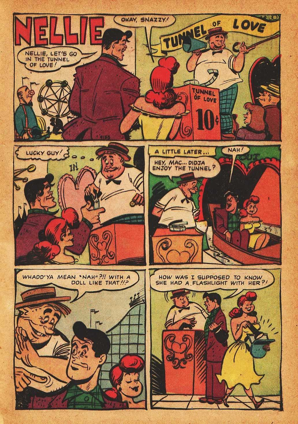 Read online Nellie The Nurse (1945) comic -  Issue #32 - 29