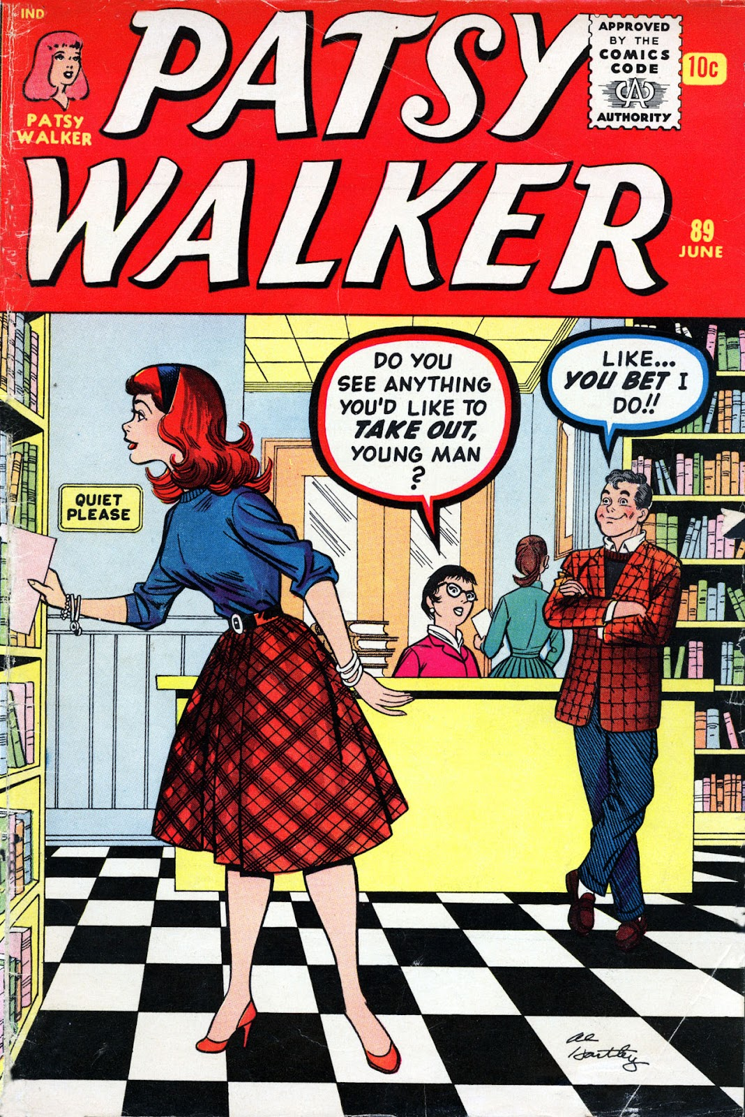 Patsy Walker 89 Page 1