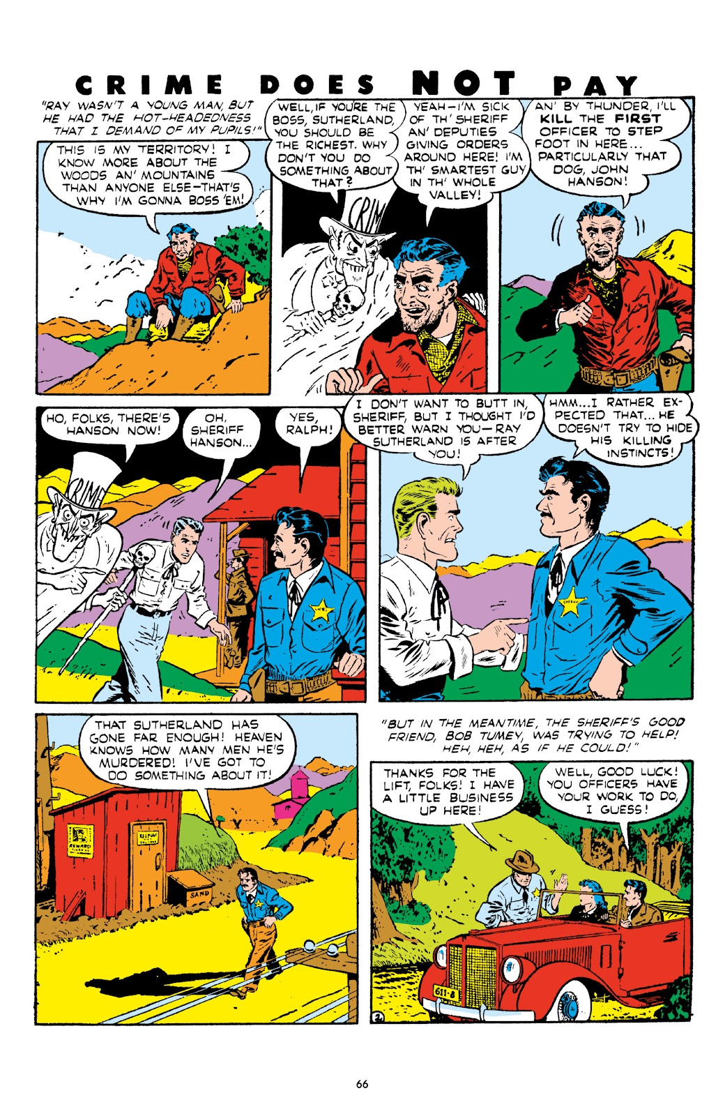 Read online Crime Does Not Pay Archives comic -  Issue # TPB 5 (Part 1) - 66