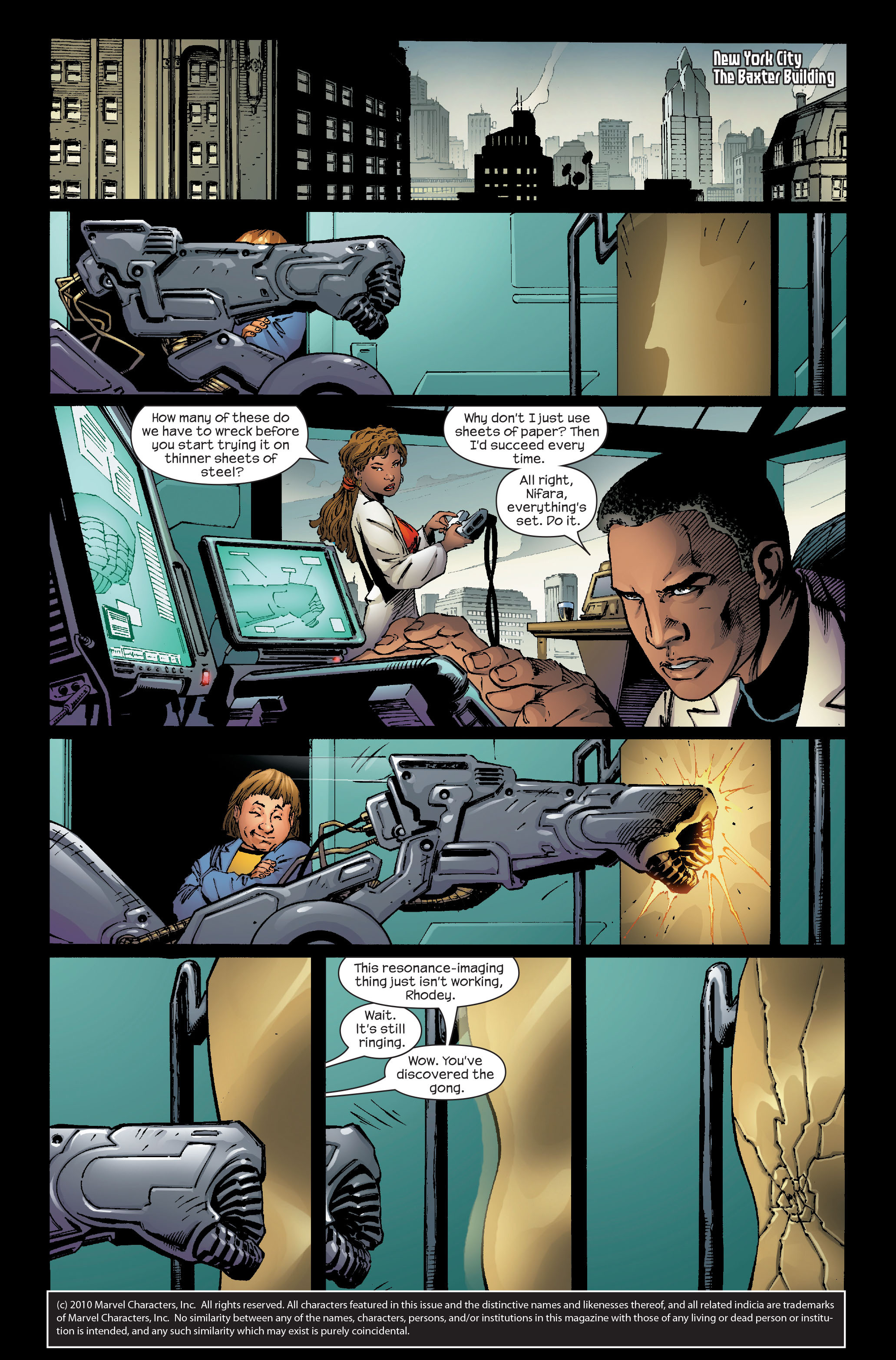 Read online Ultimate Iron Man (2005) comic -  Issue #5 - 2