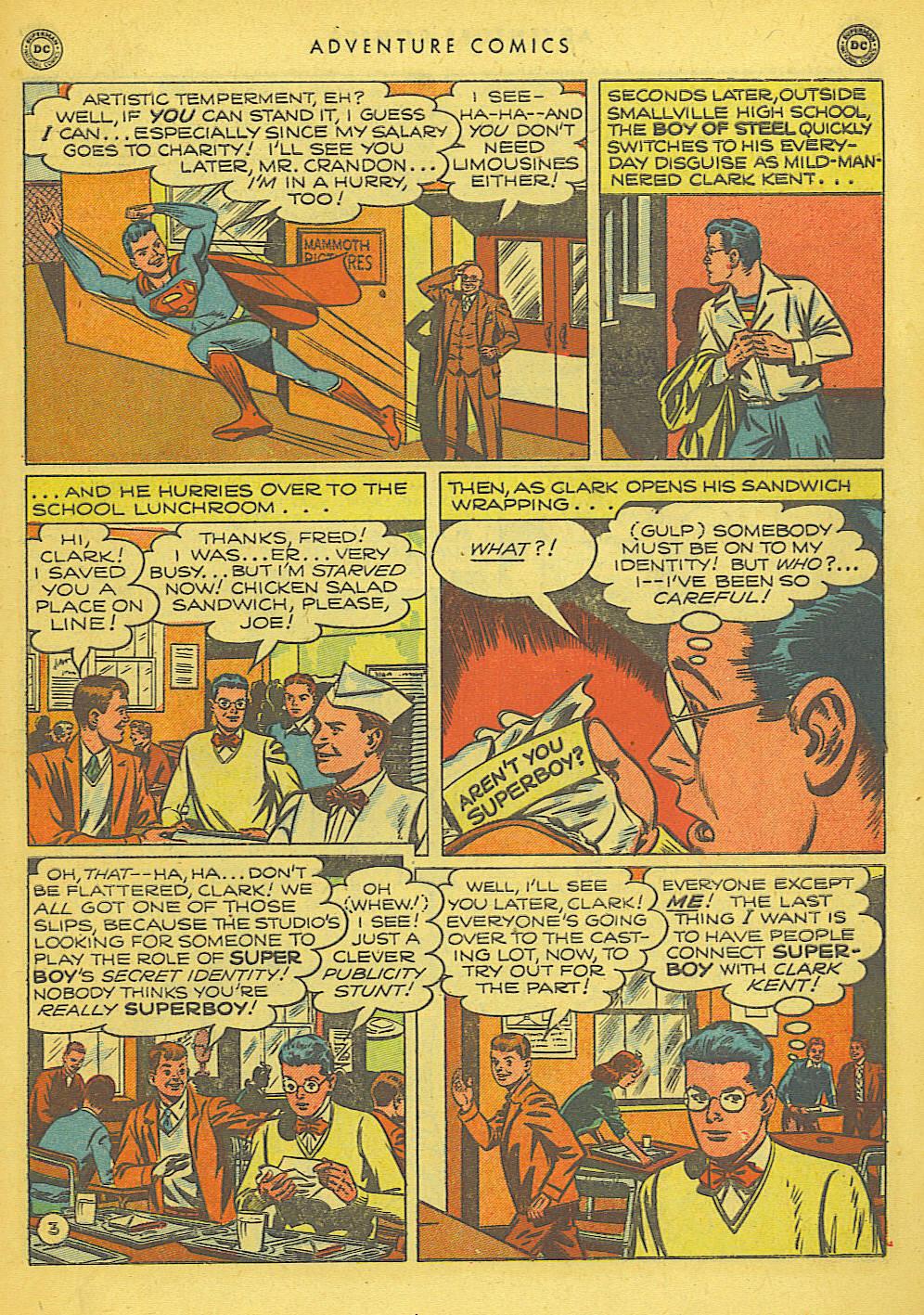 Read online Adventure Comics (1938) comic -  Issue #155 - 5