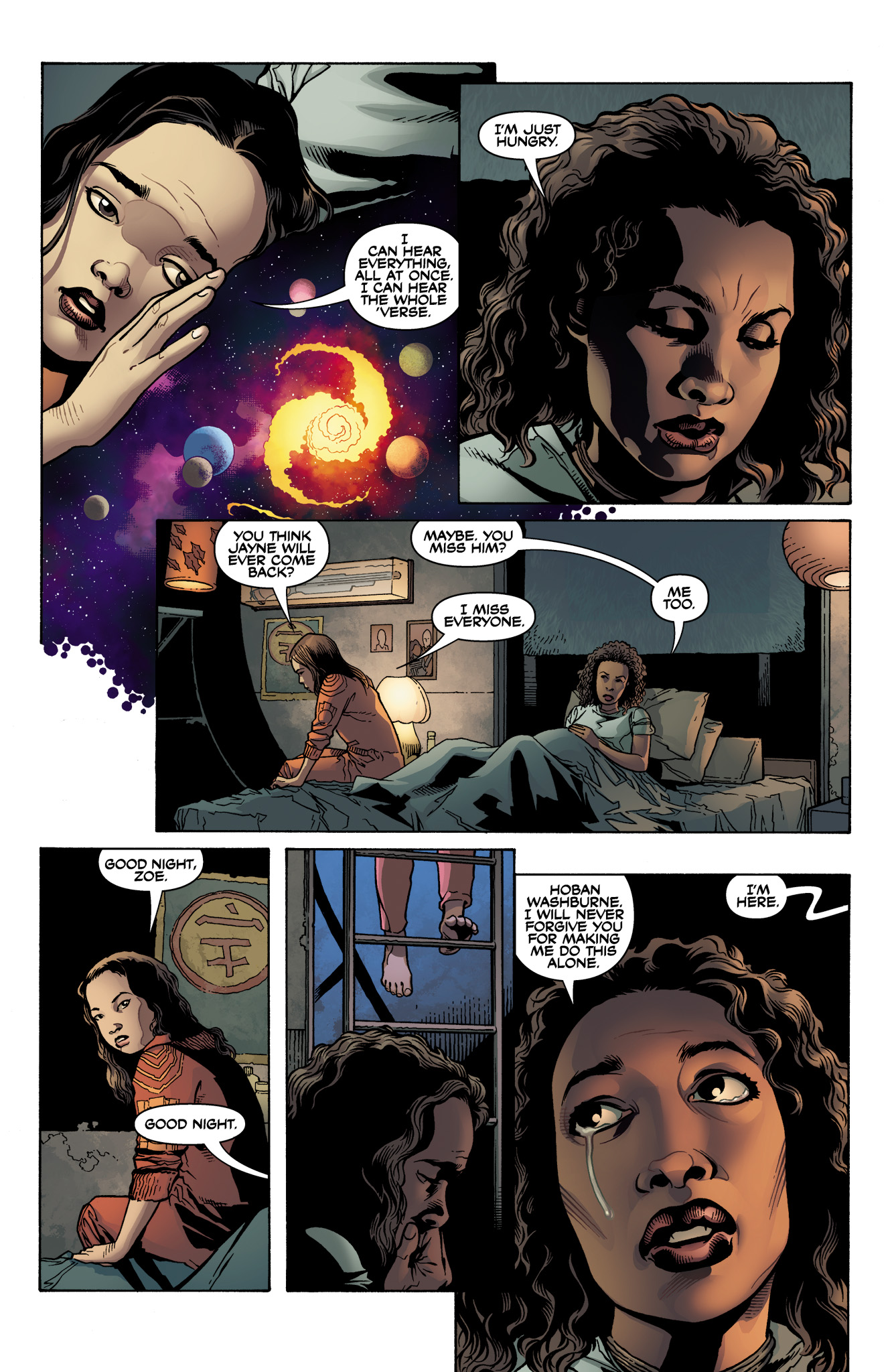 Read online Serenity: Firefly Class 03-K64  Leaves on the Wind comic -  Issue #1 - 15