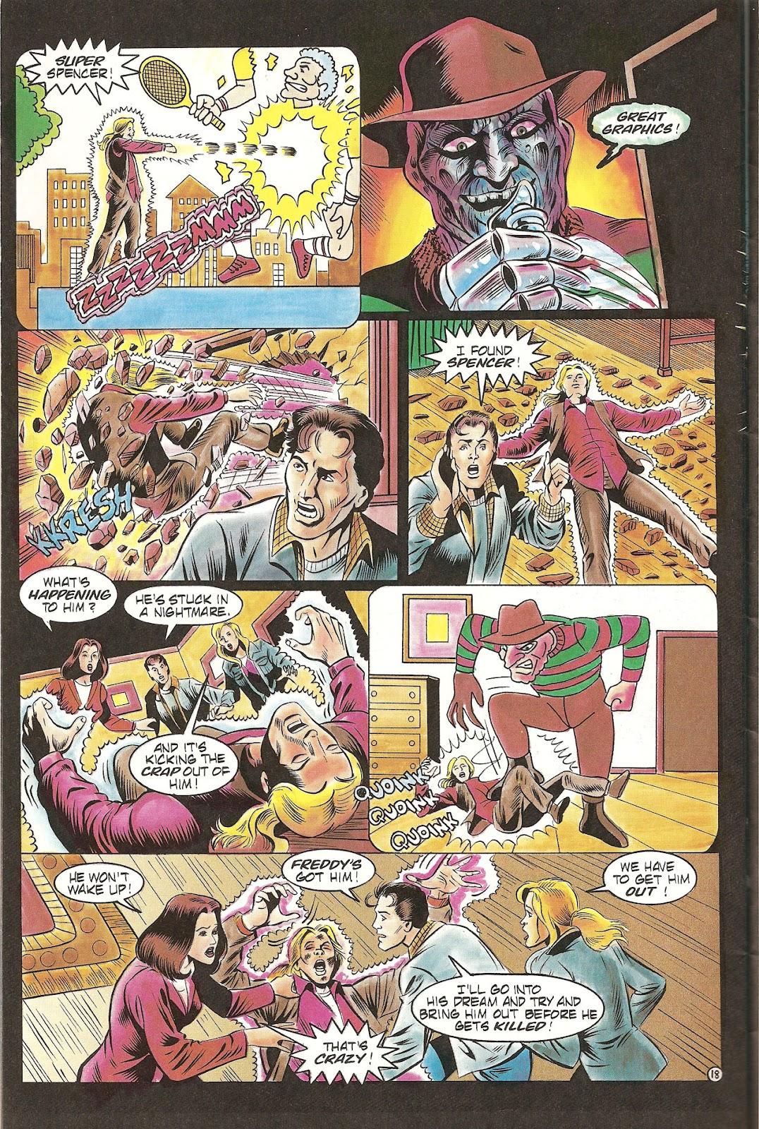 Read online Freddy's Dead: The Final Nightmare comic -  Issue #2 - 20