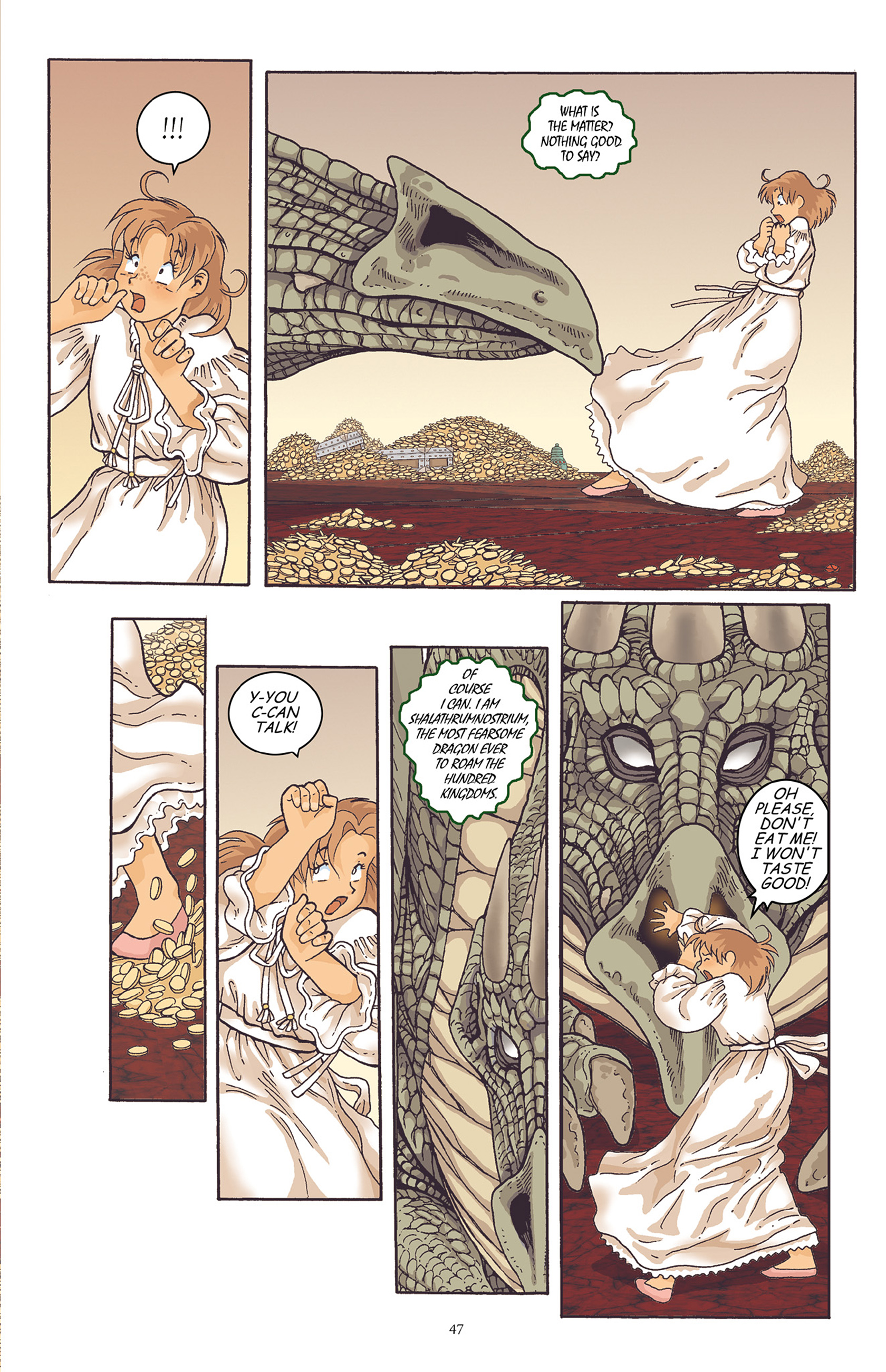 Read online Courageous Princess comic -  Issue # TPB 1 - 48