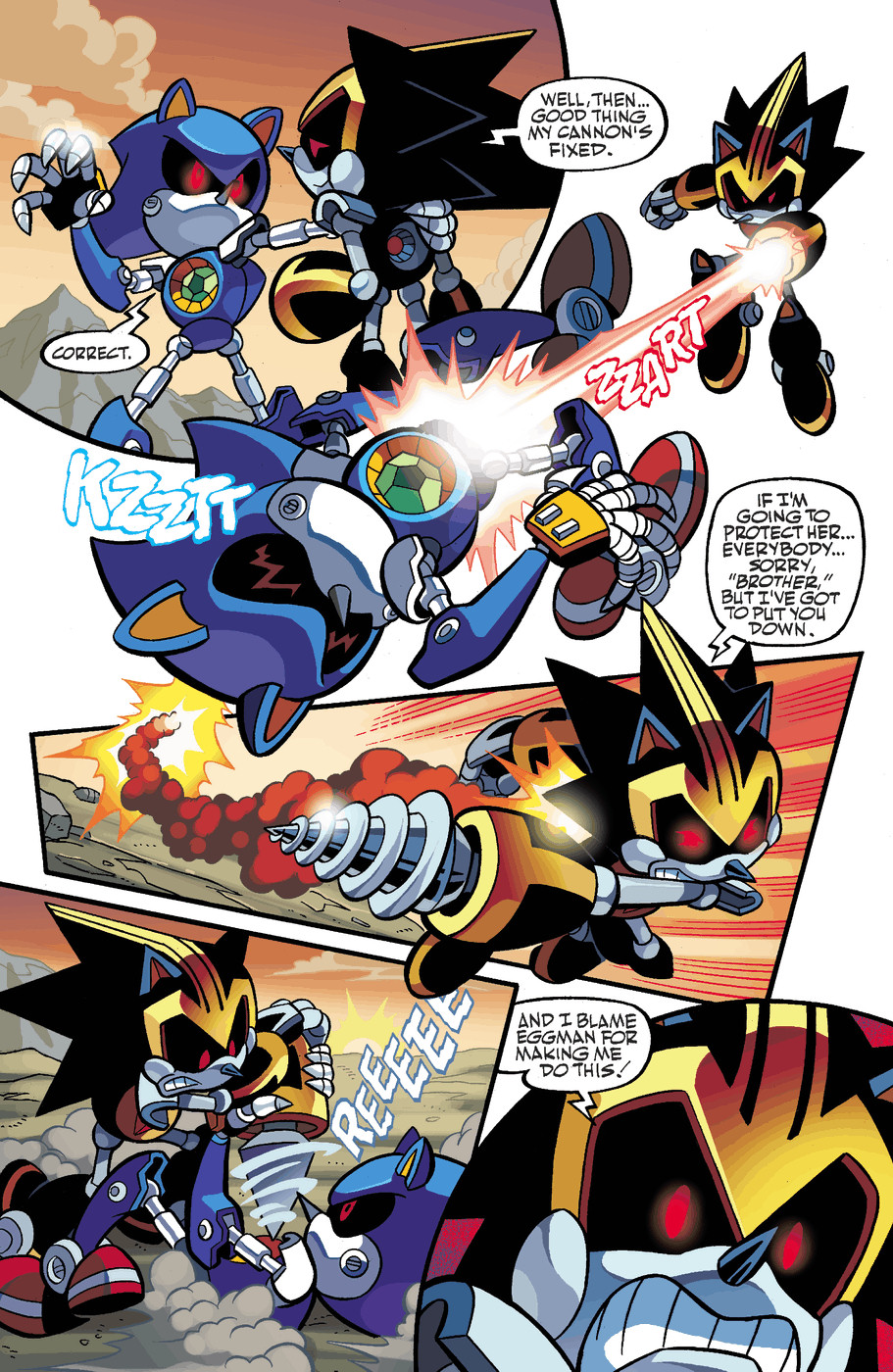Read online Sonic Universe comic -  Issue #50 - 19