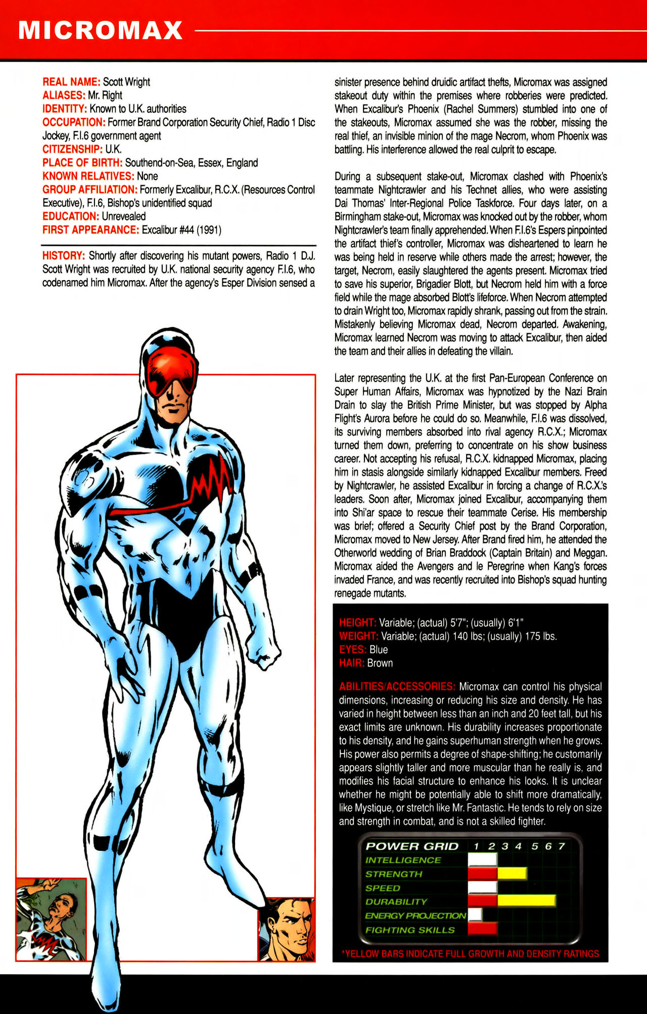 Read online All-New Official Handbook of the Marvel Universe A to Z comic -  Issue #7 - 32
