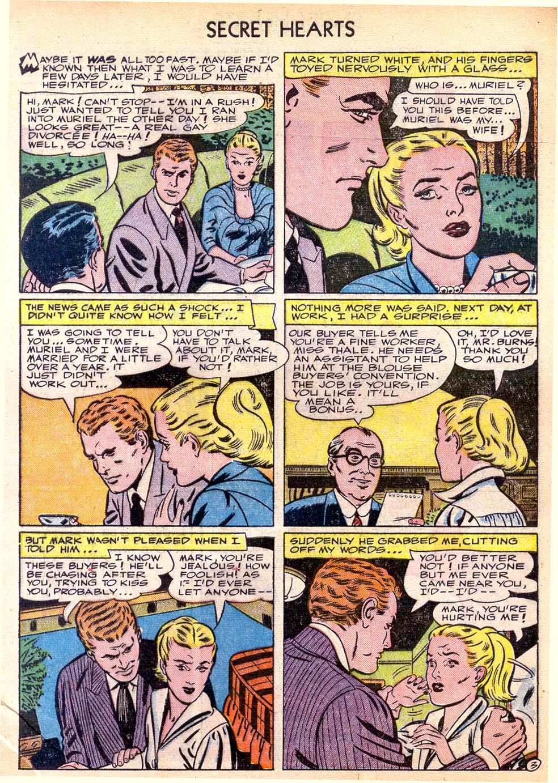 Read online Secret Hearts comic -  Issue #11 - 5
