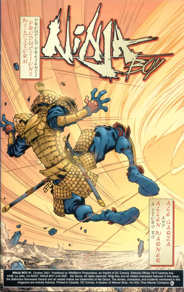 Read online Ninja Boy comic -  Issue #1 - 2