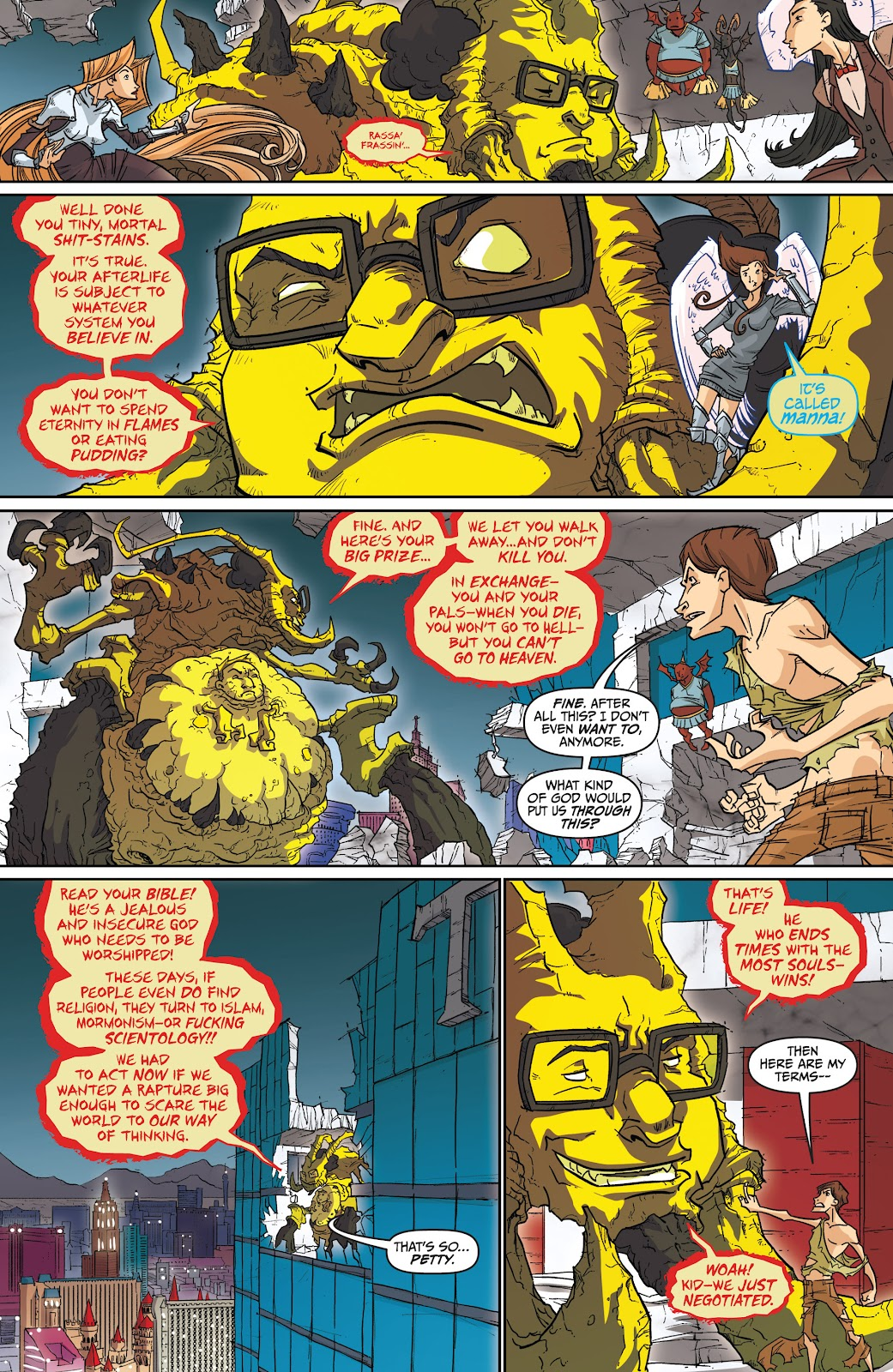 Read online The End Times of Bram and Ben comic -  Issue #4 - 25