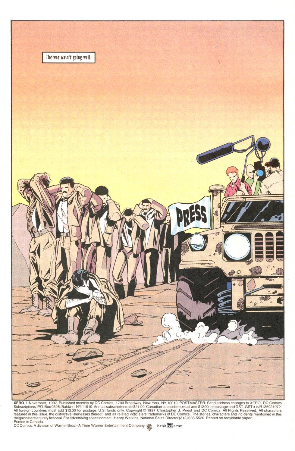 Read online Xero comic -  Issue #7 - 6