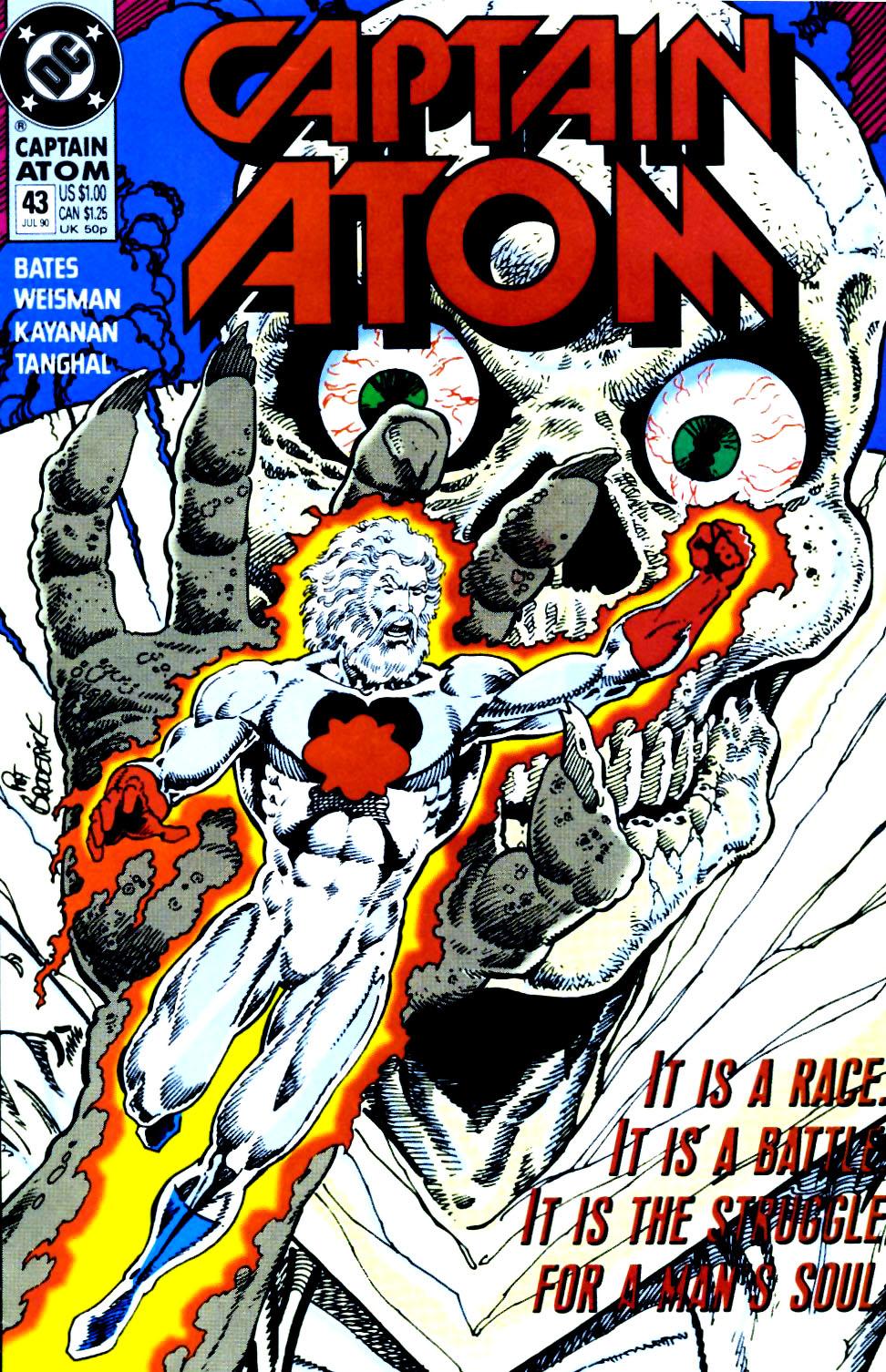 Captain Atom (1987) 43 Page 1