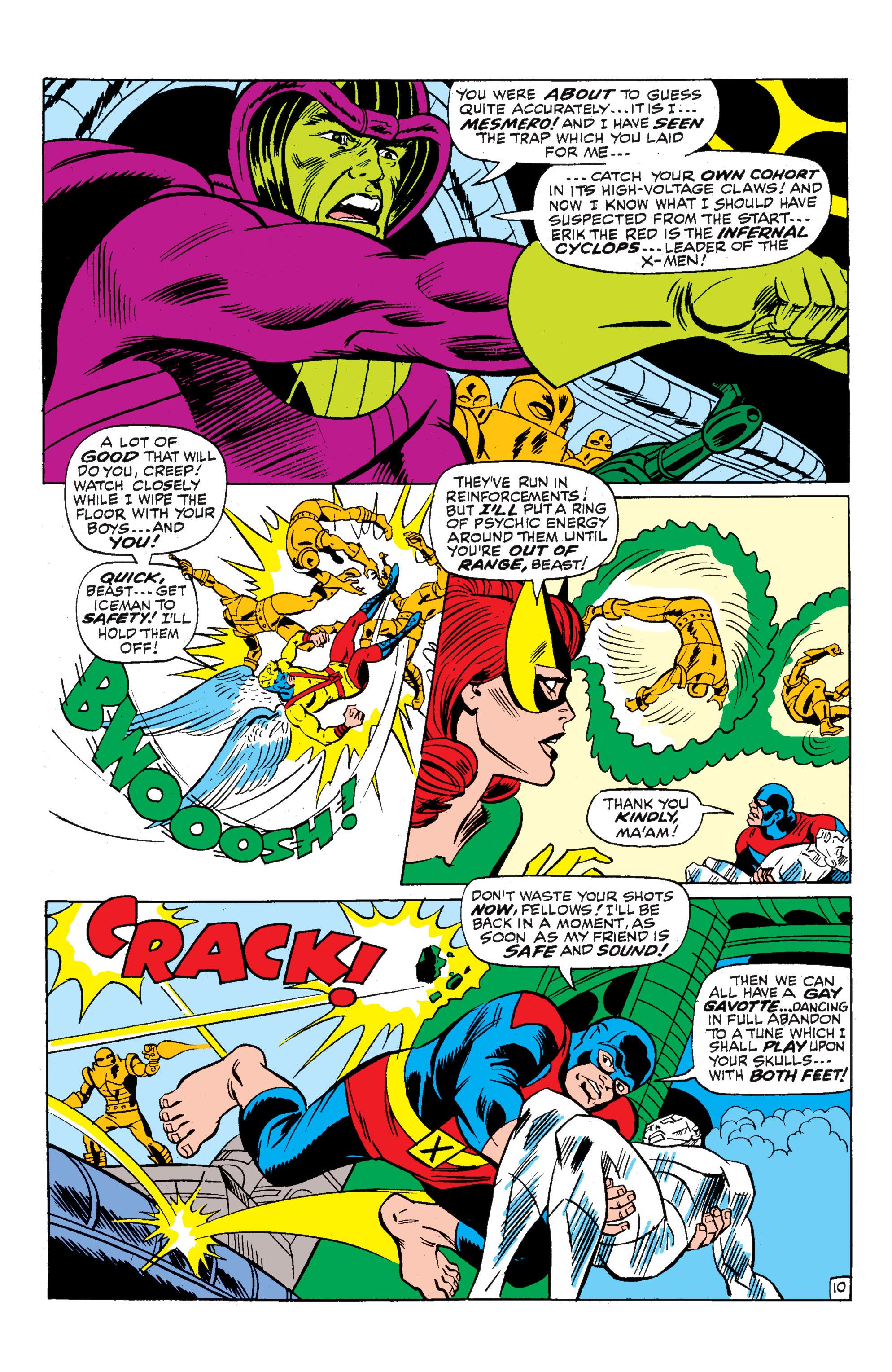 Uncanny X-Men (1963) 52 Page 10